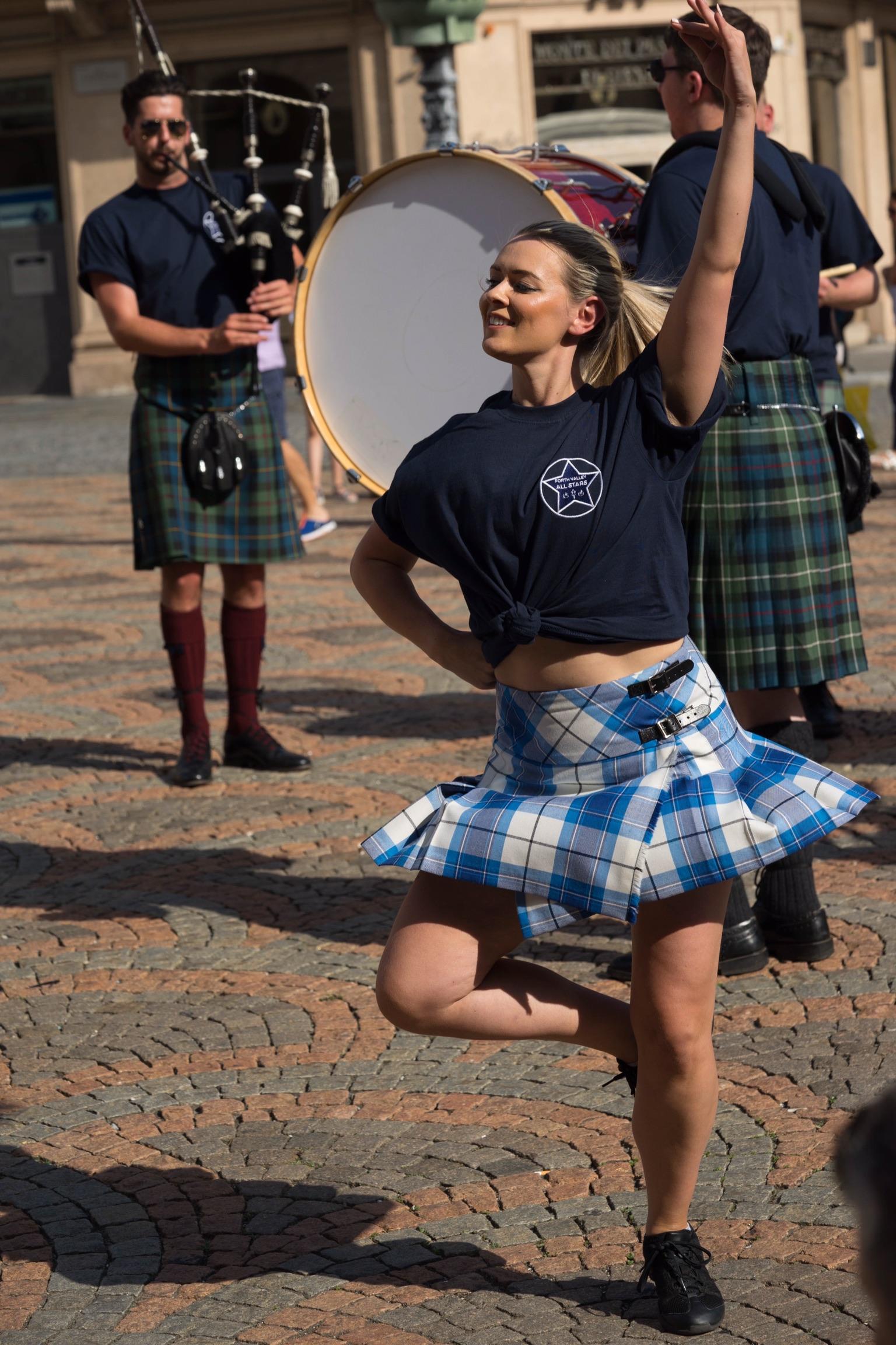 Irish dance ...