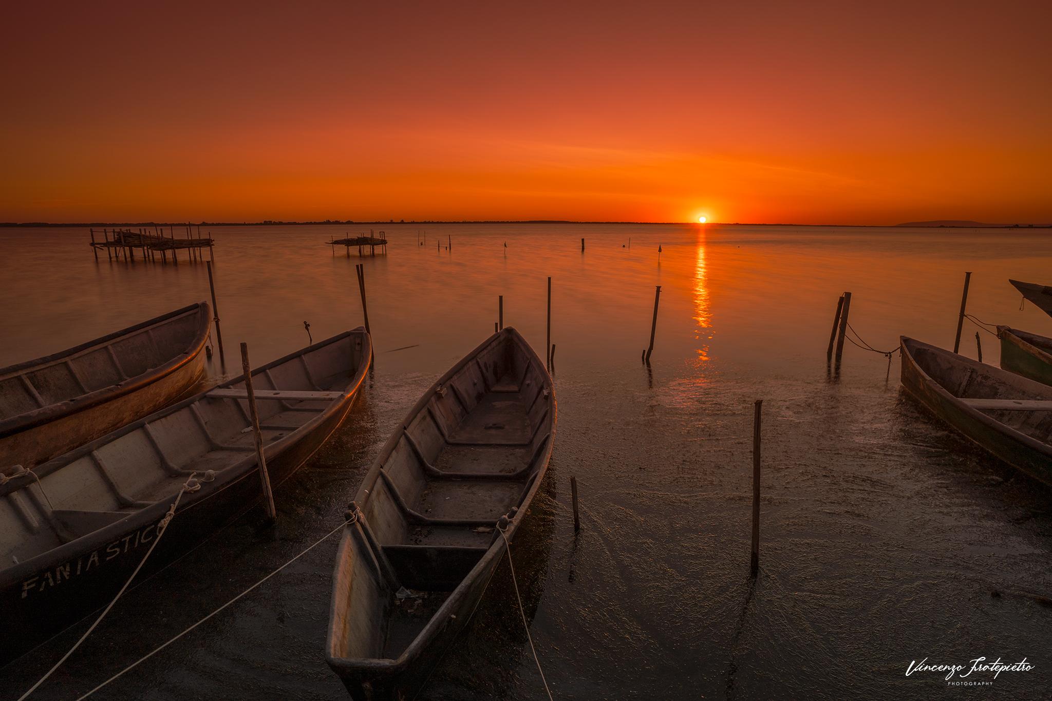 sunrise at Lesina...