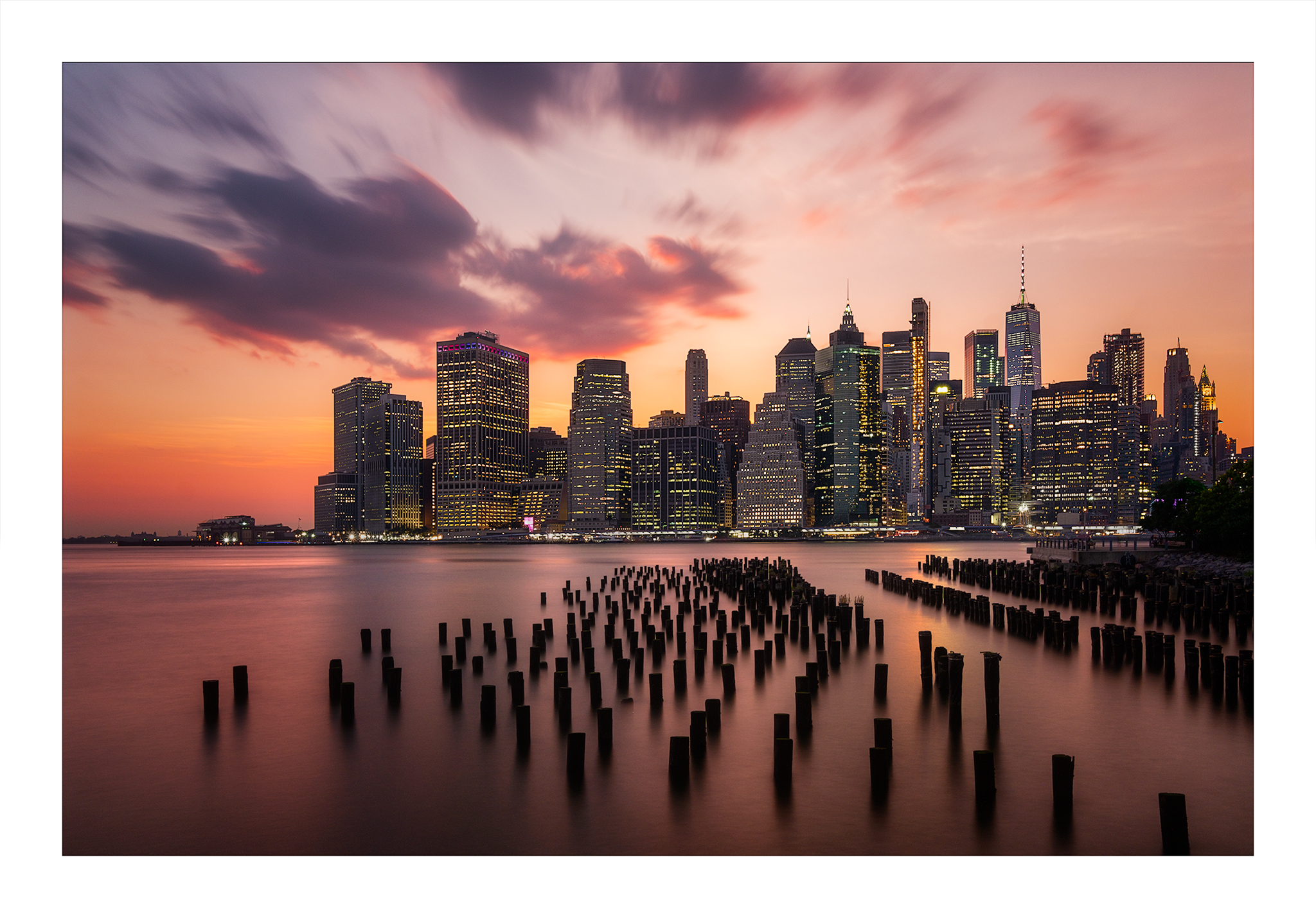 Sunset at Pier1, Brooklyn...