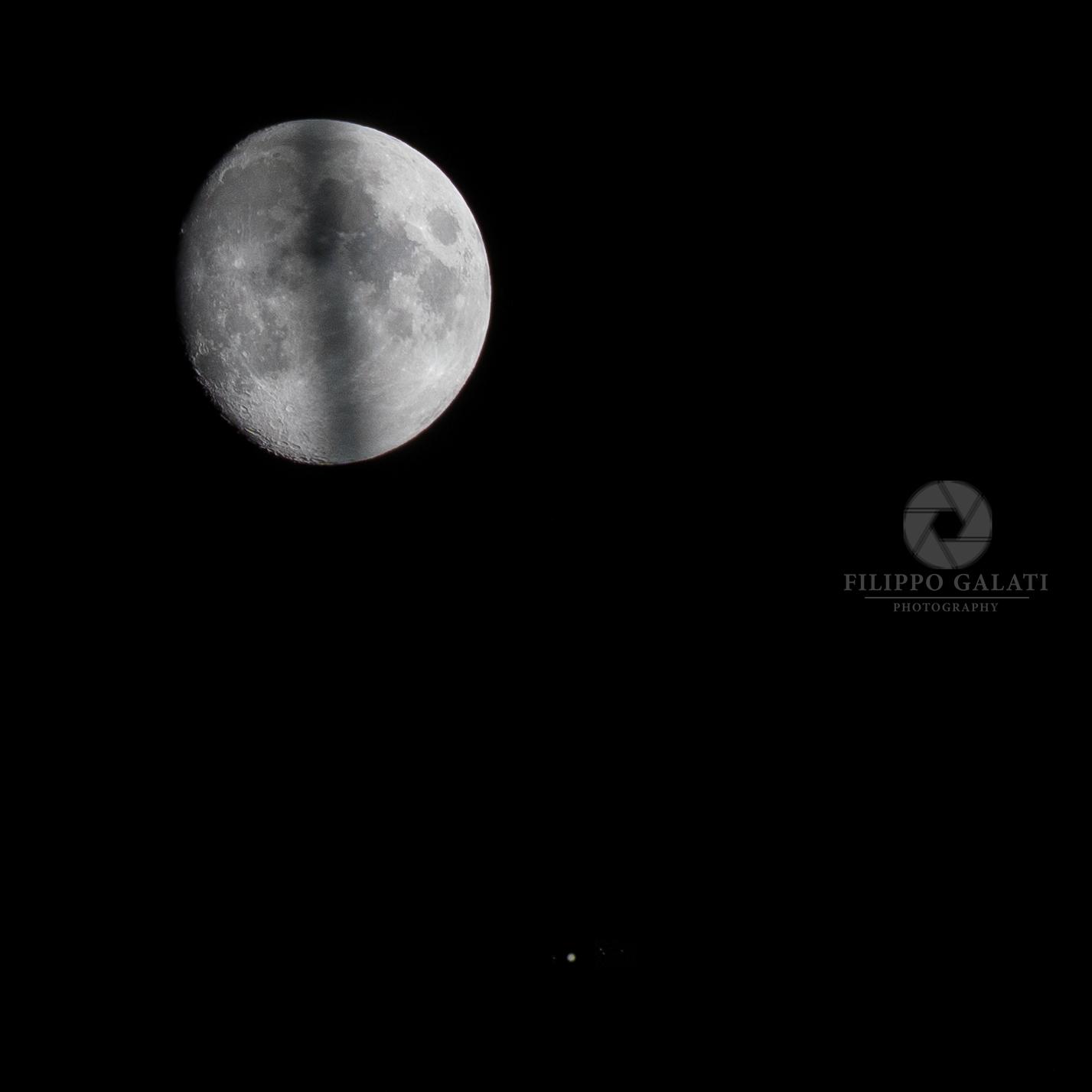 Conjunction Moon - Jupiter...