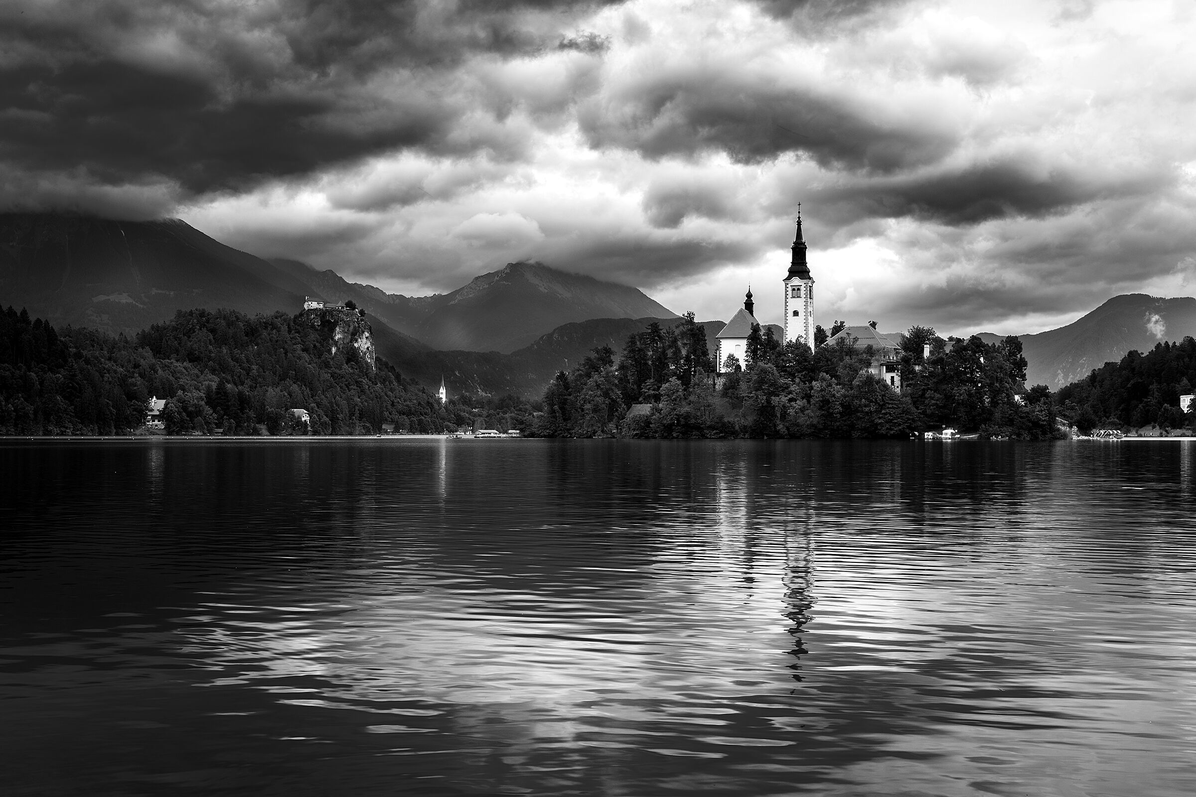 Dark clouds over Bled...