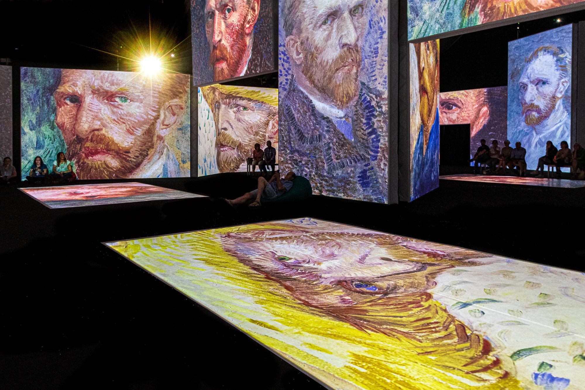 The Watchful Gaze of Van Gogh...