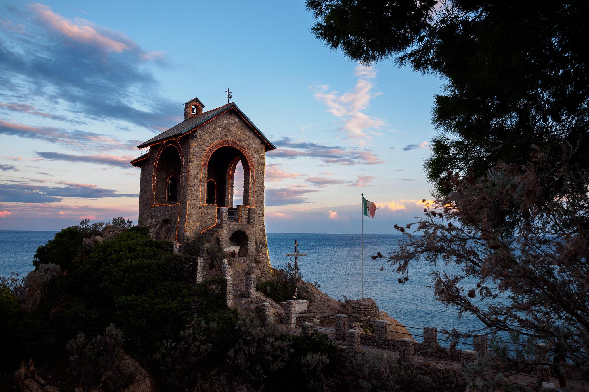 La Cappelletta del porto di Alassio...