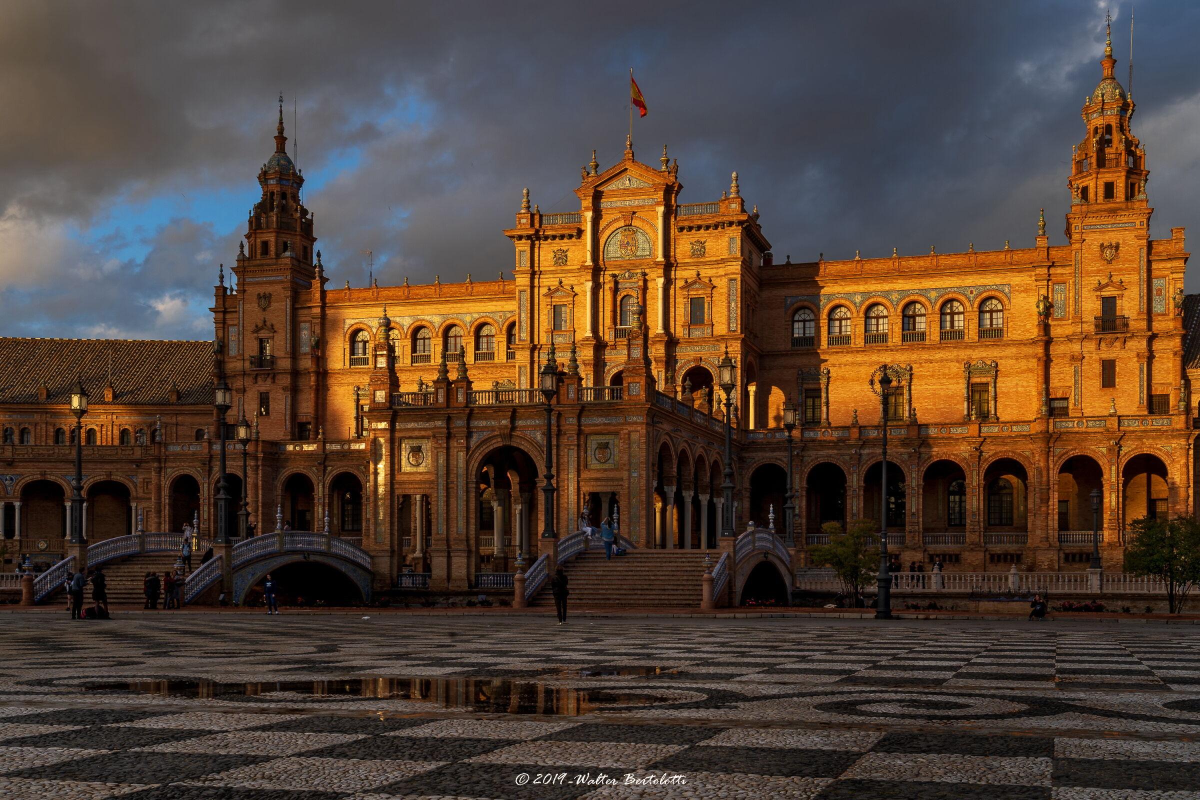 Plaza de espana - Sevilla...