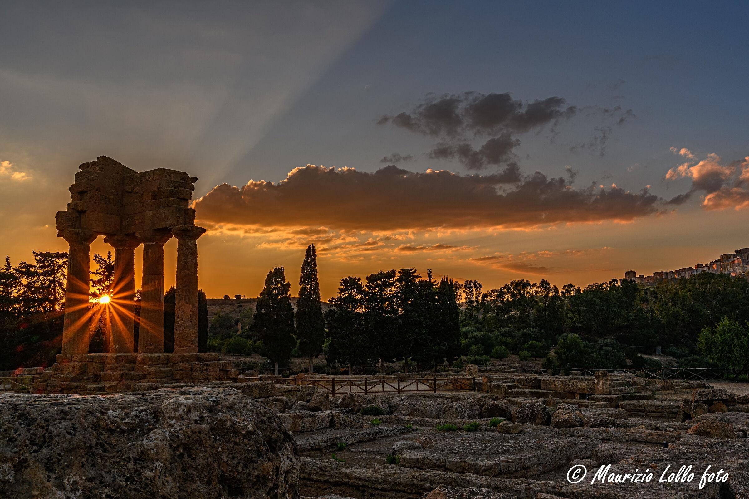 Al tramonto attraverso la storia...