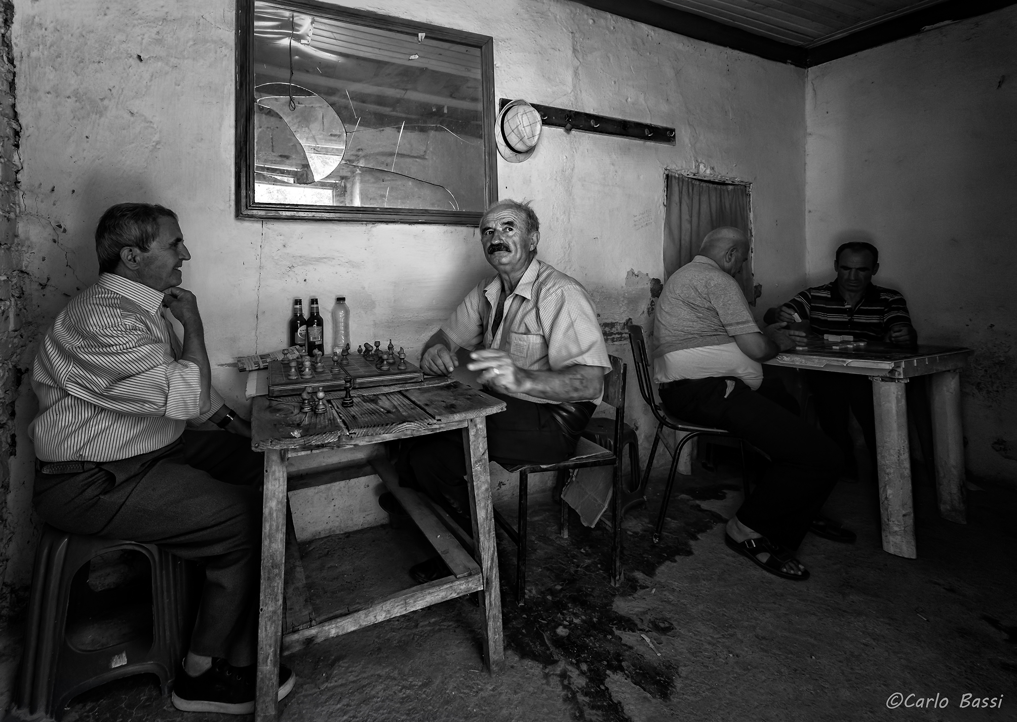 A bar in Albania...