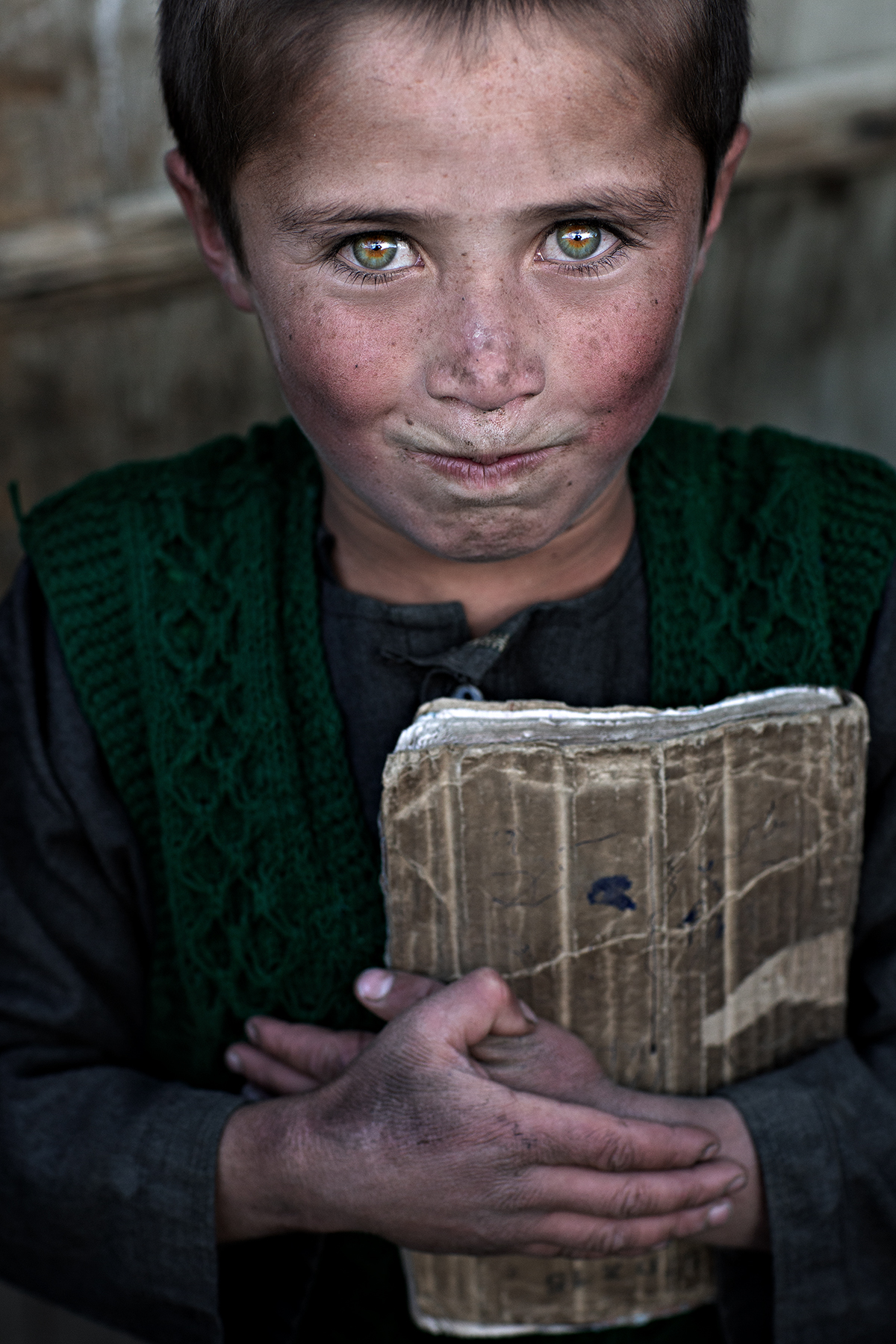 green eyes, Afghanistan...