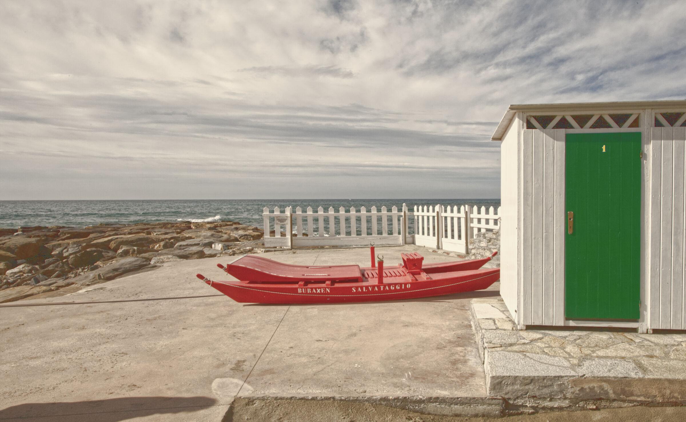 Cabin No.1...