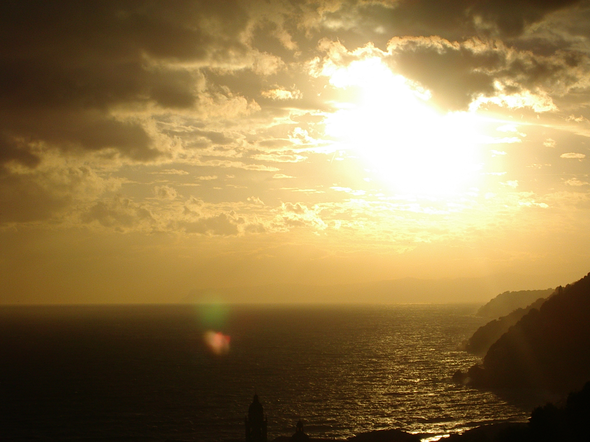 tramonto...