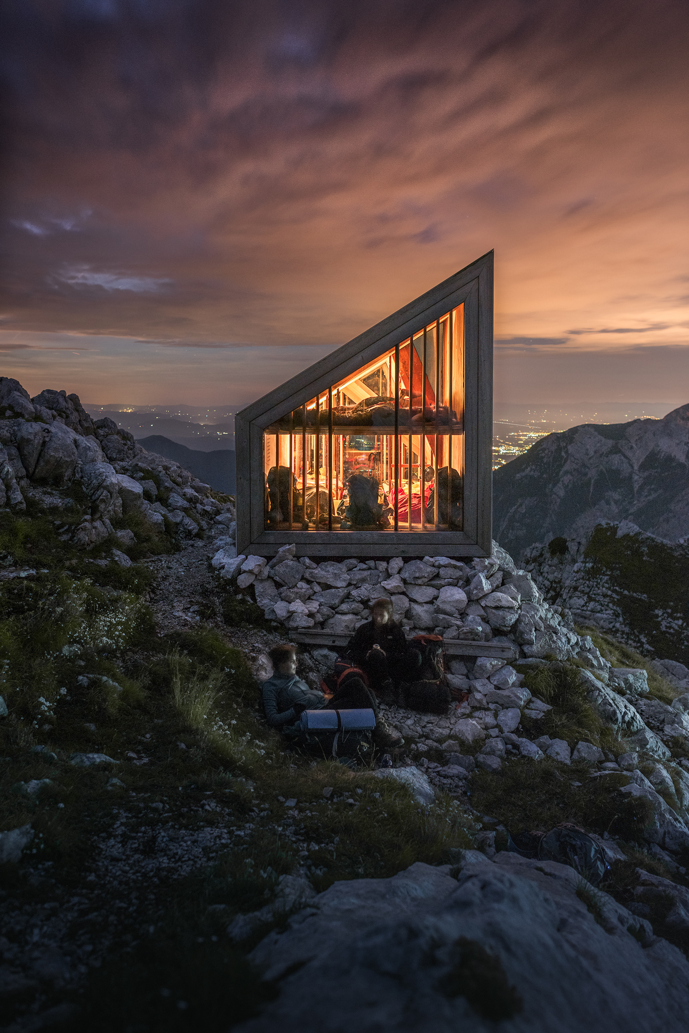 Mountain shelter...