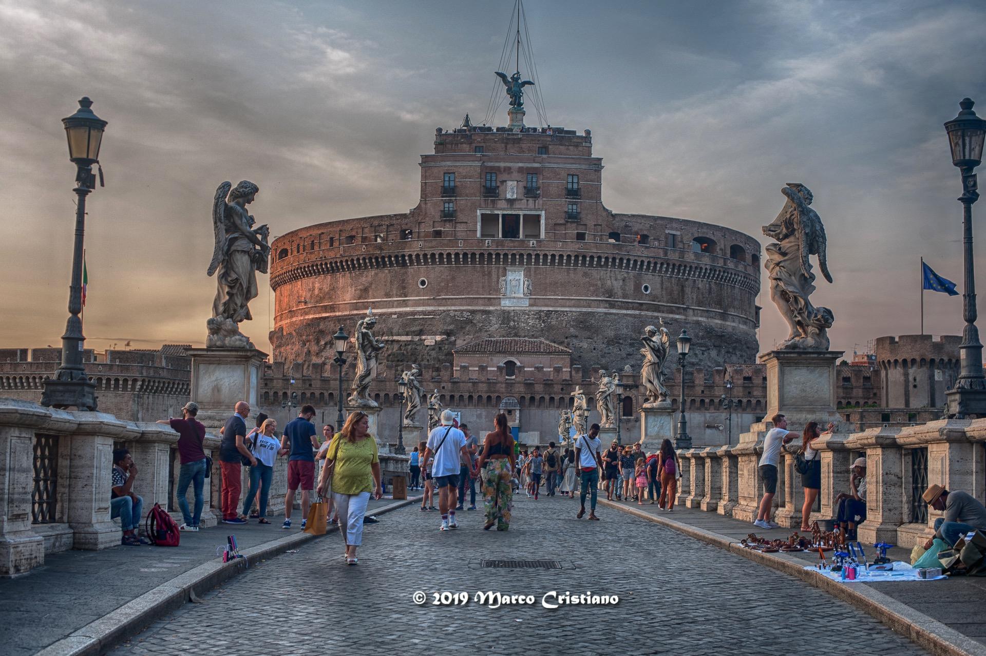 Walking around Rome....