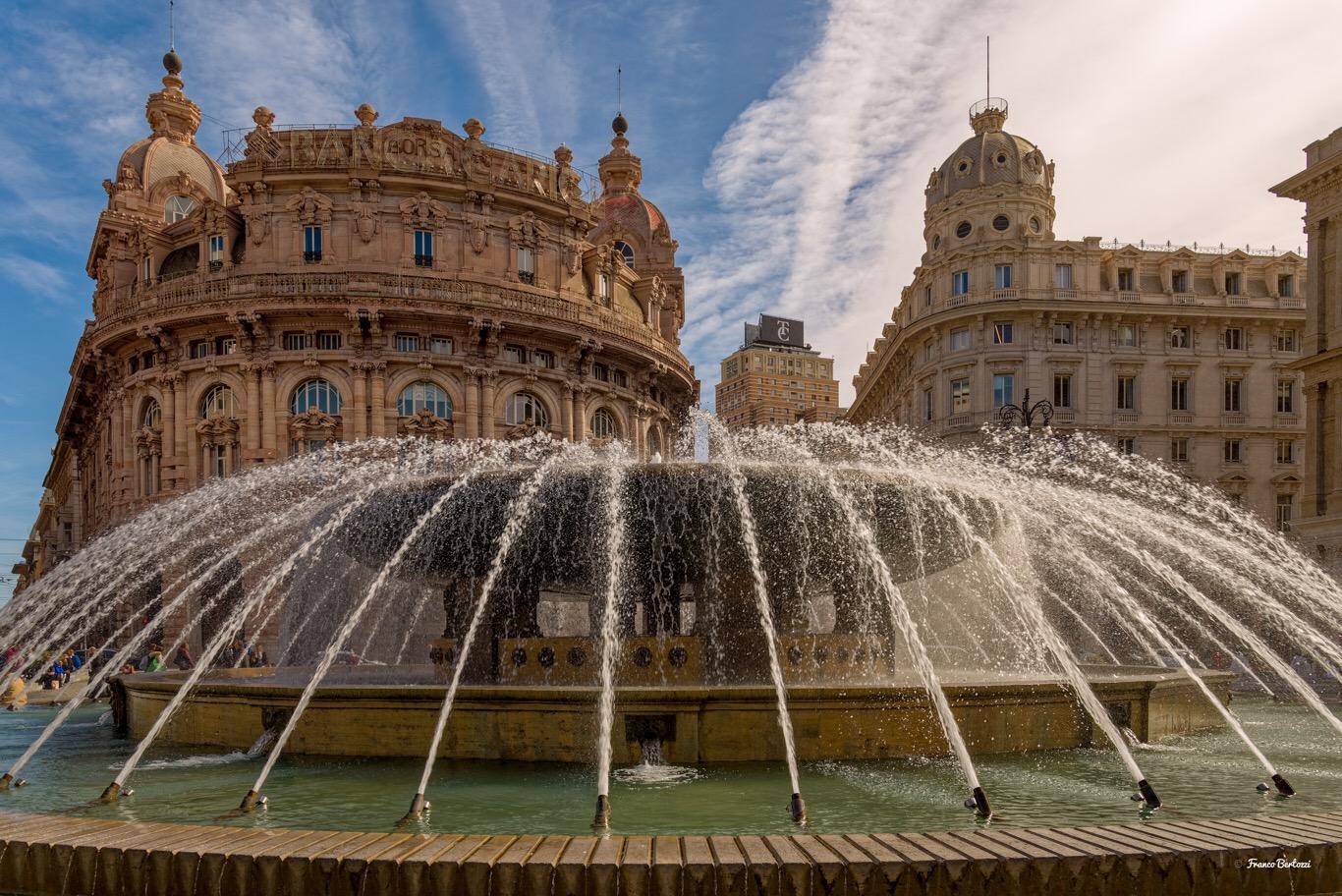 Genova, piazza De Ferrari...