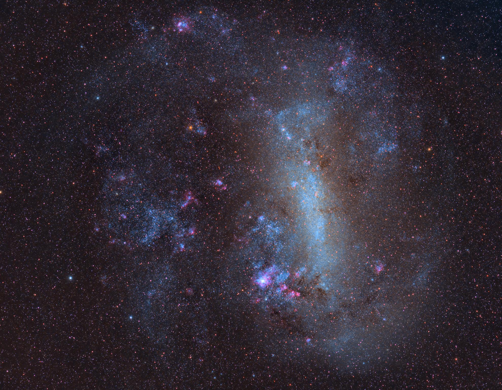 apod 5/09/2019, la Grande Nube di Magellano...