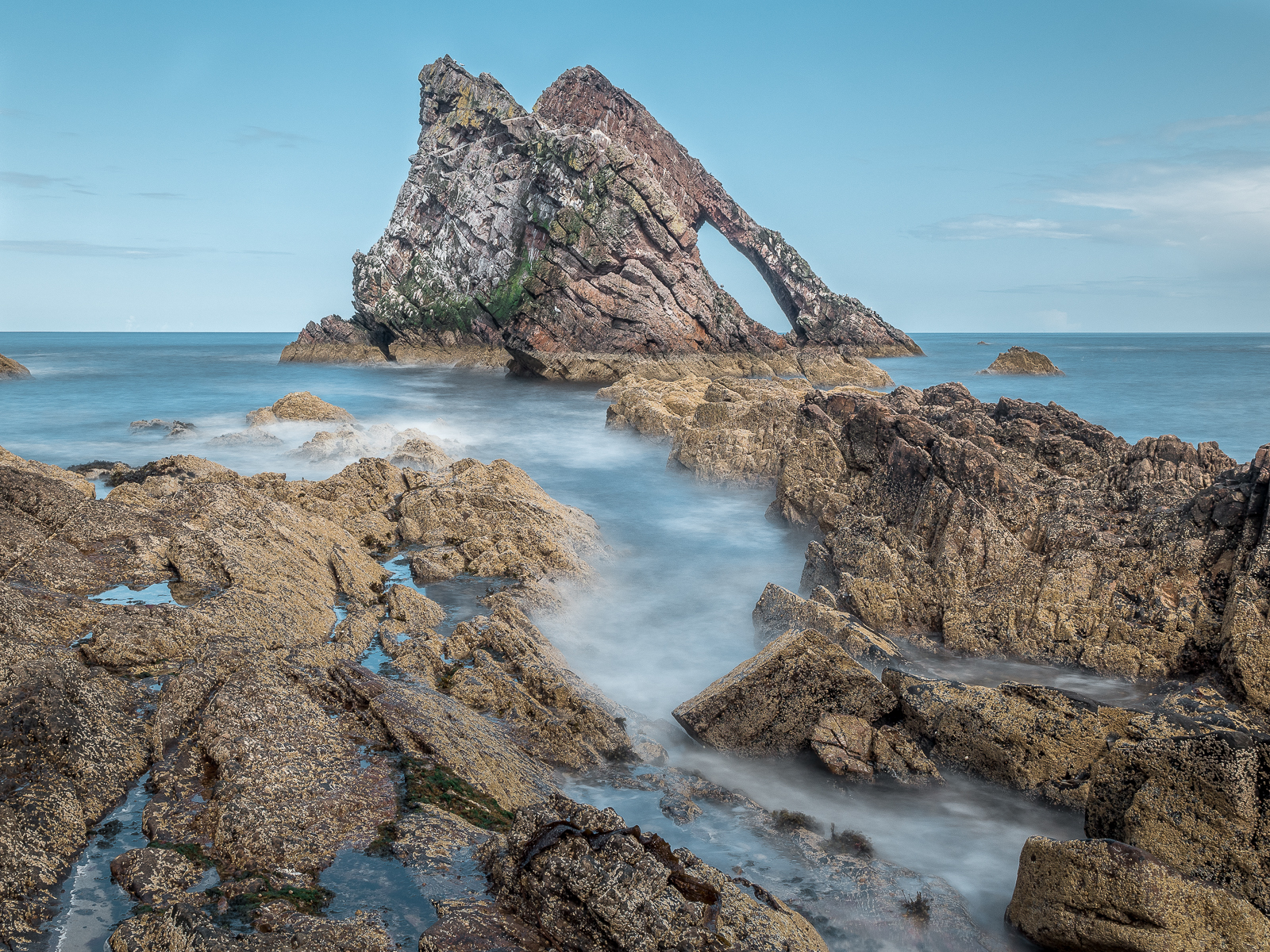 Bow Fiddle Rock, Real...