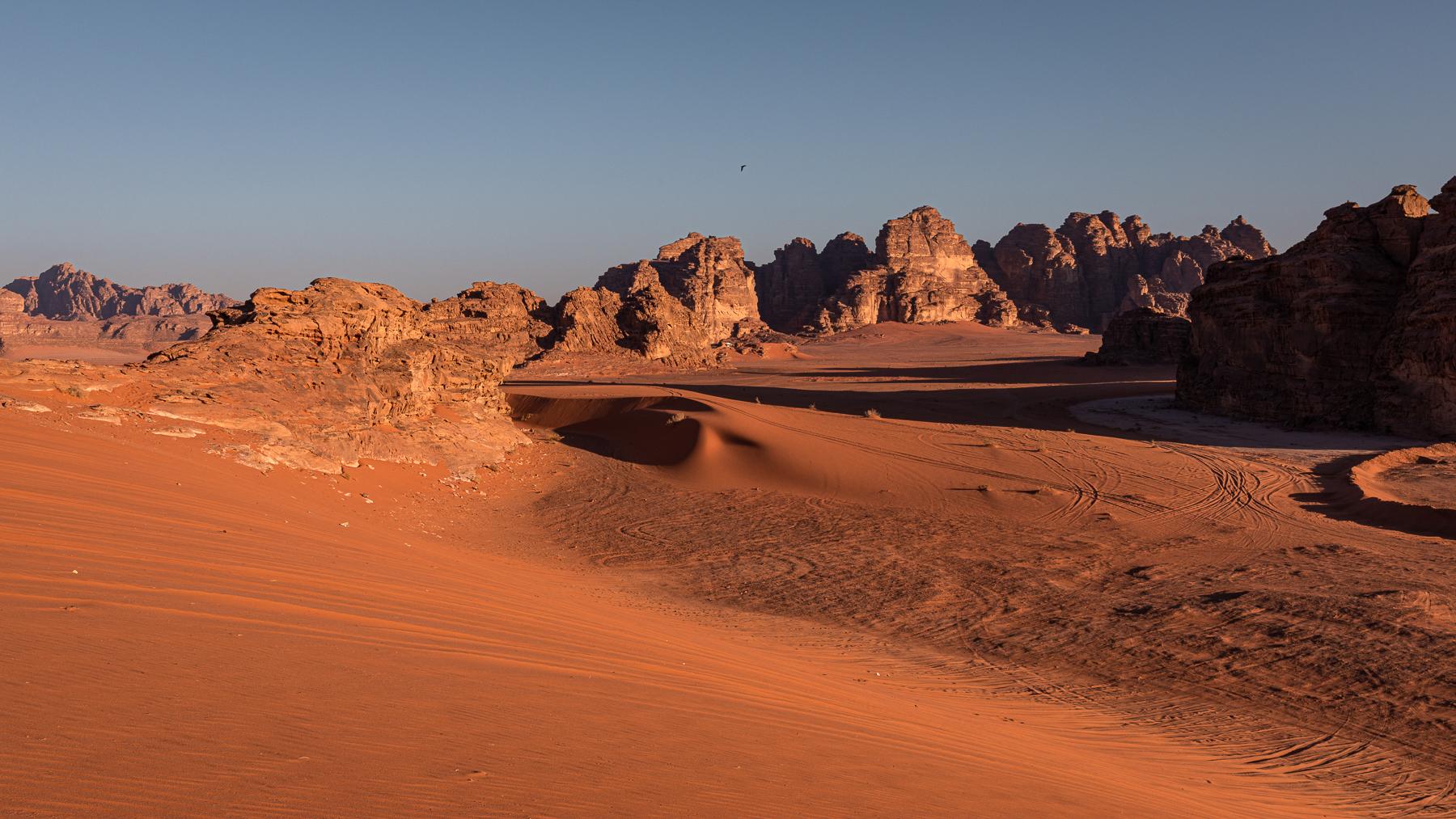 Albi on Wadi Rum...