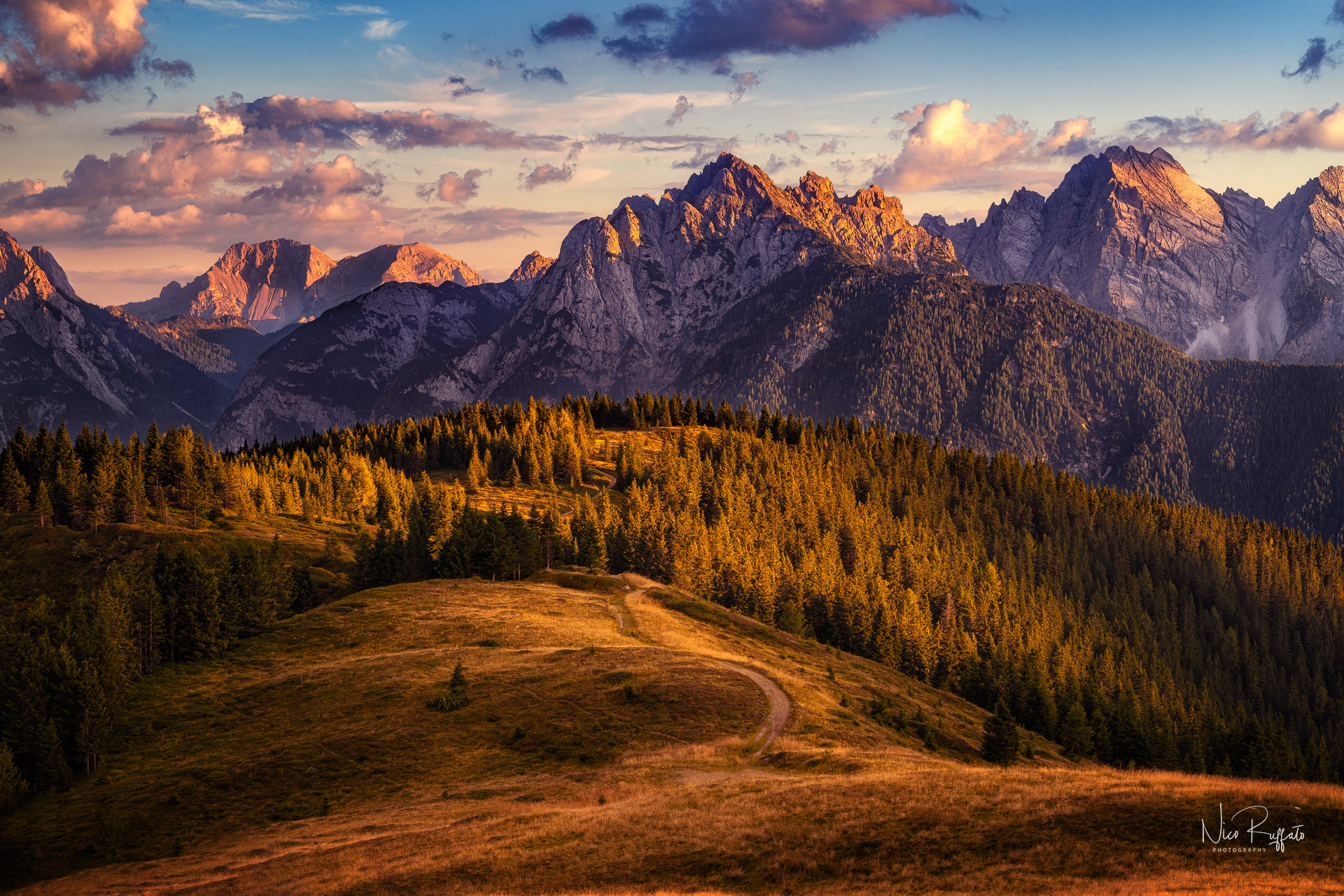 Dolomite Sunset...