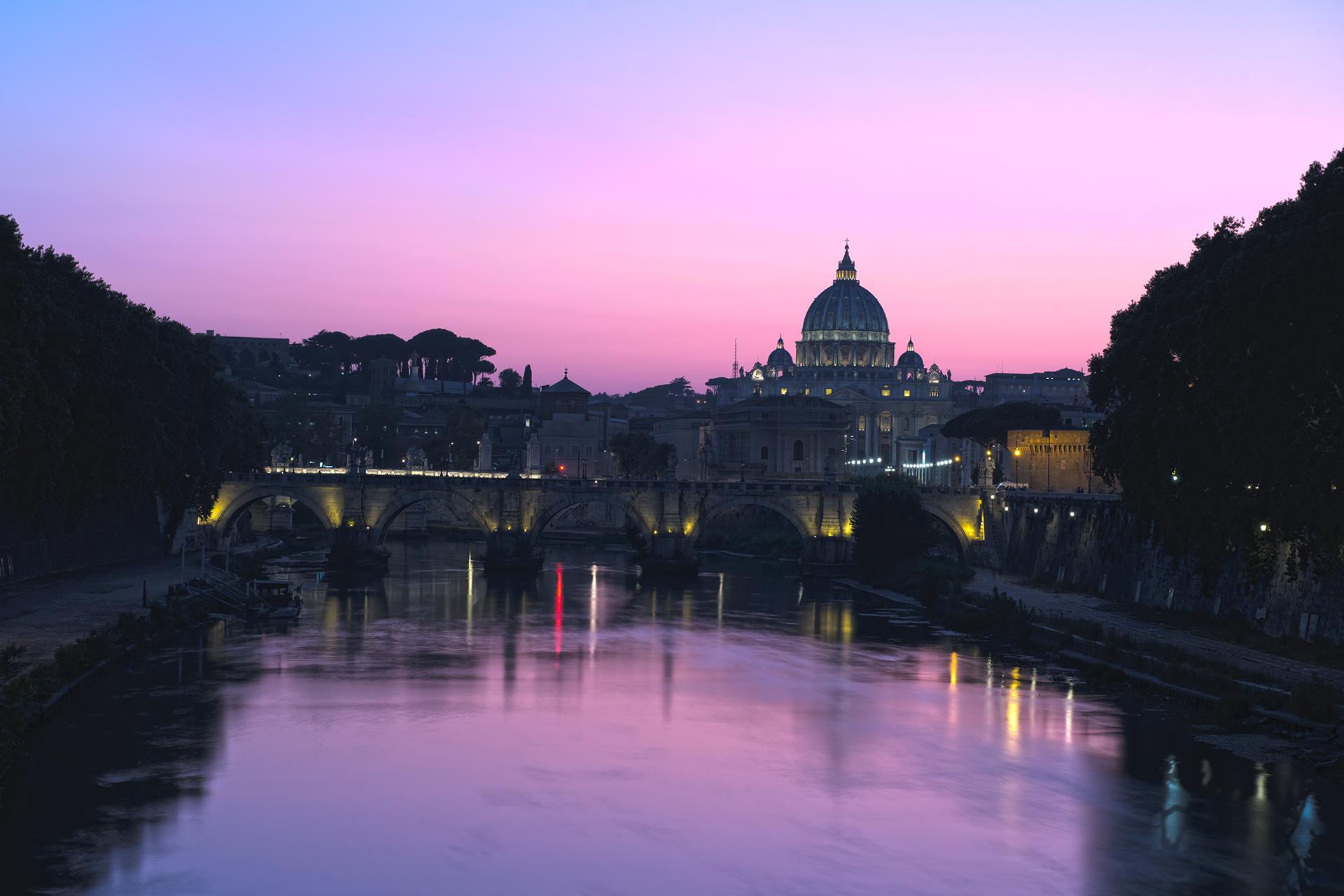 Bridge Umberto I, an ordinary day....