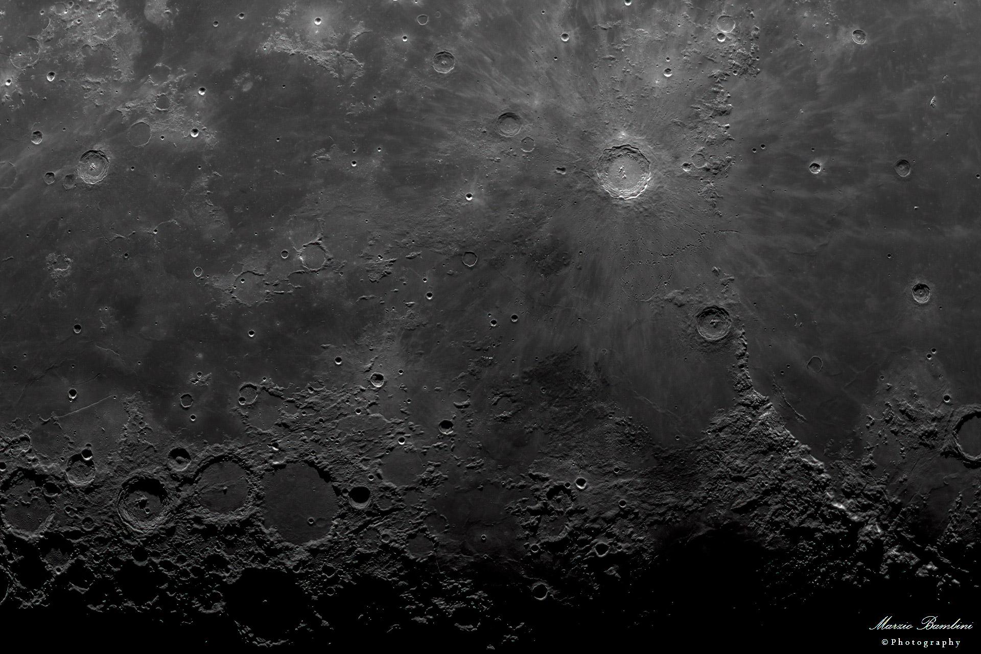 Moon: Copernicus region...