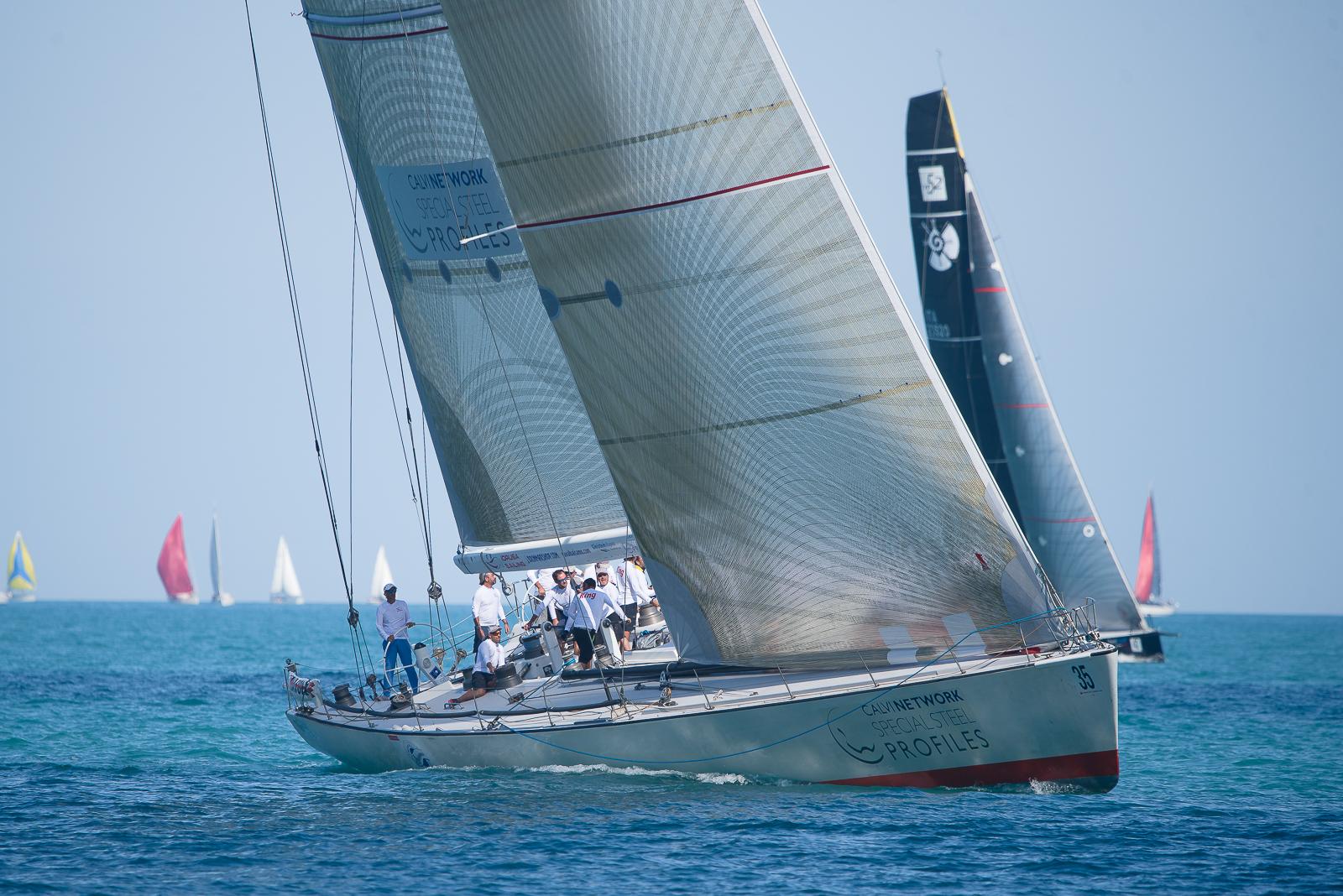 Idrusa barca vincitrice della Regata del Conero 2019...