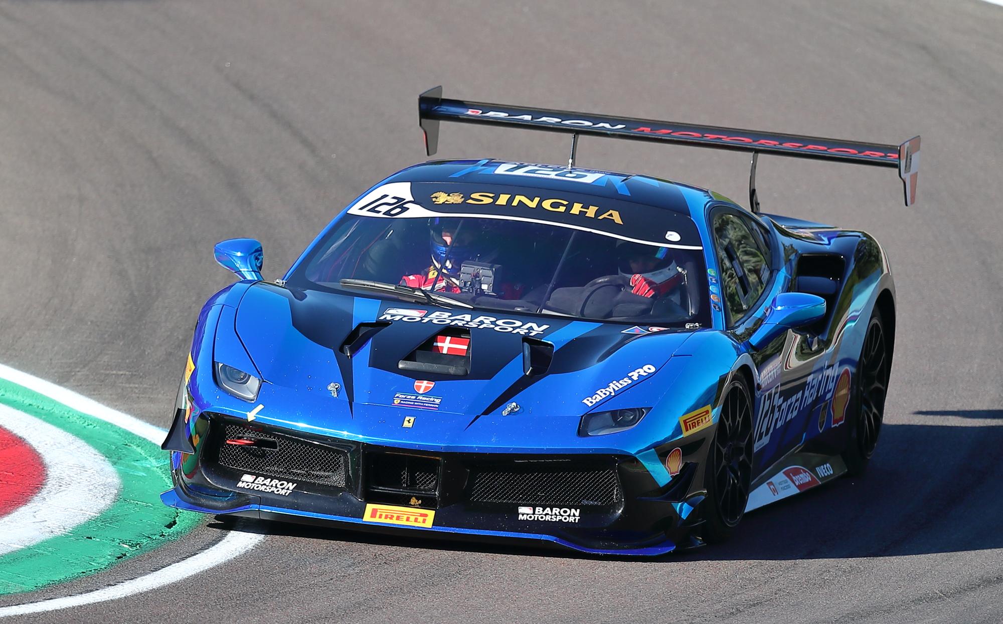 Imola 27/09/2019 - Ferrari Challenge Cup Shell...