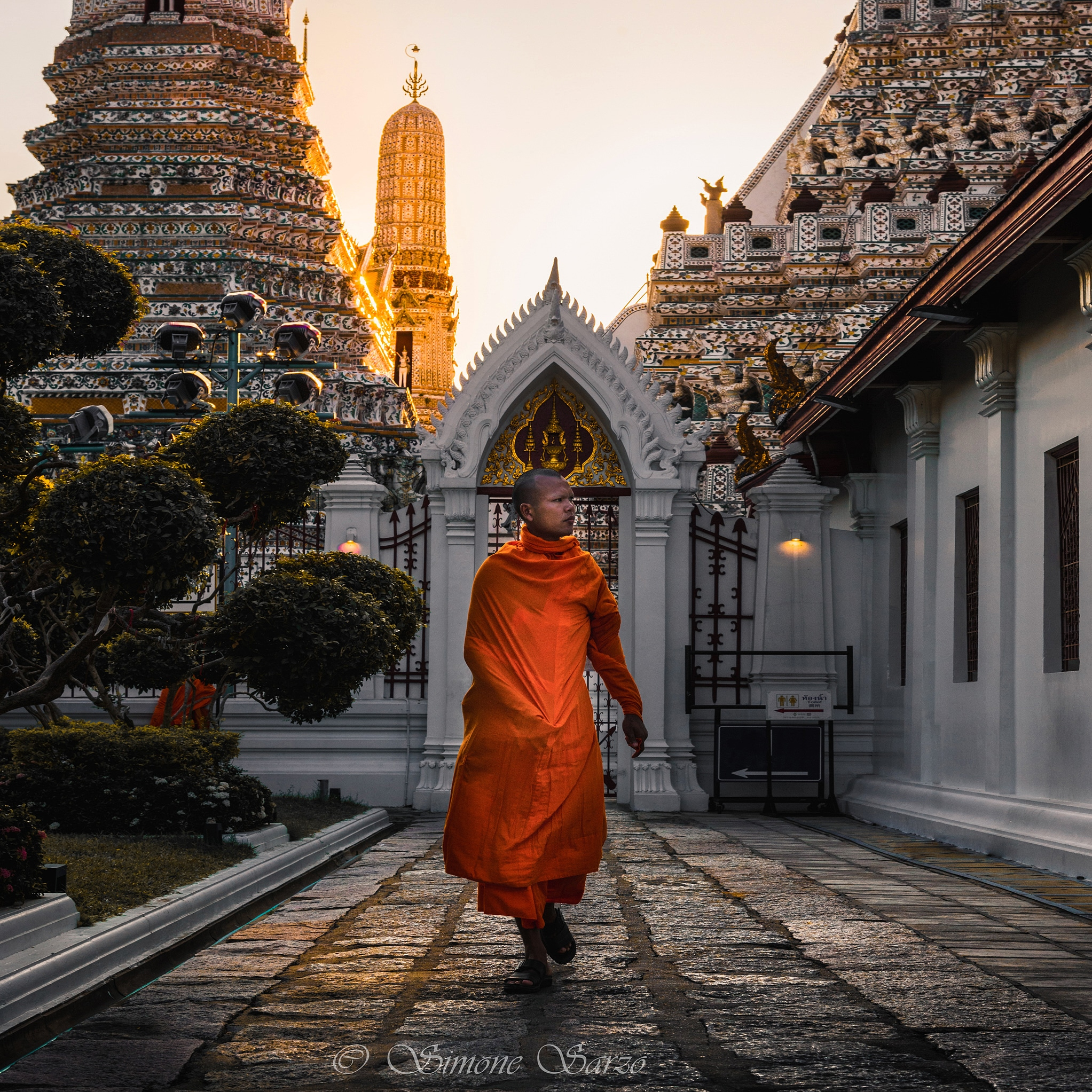 Monk at Wat Arun...