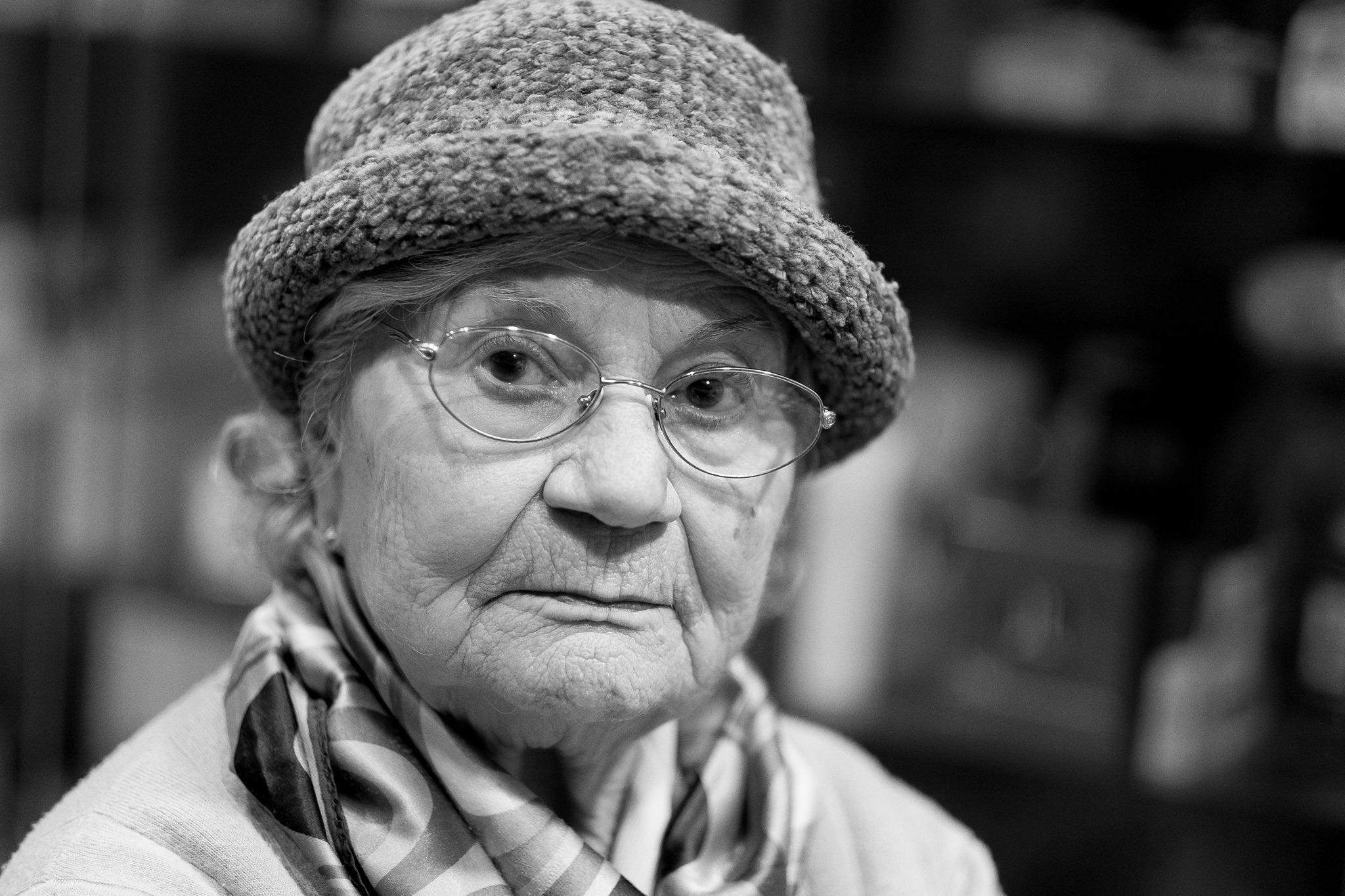 Lovely old lady...