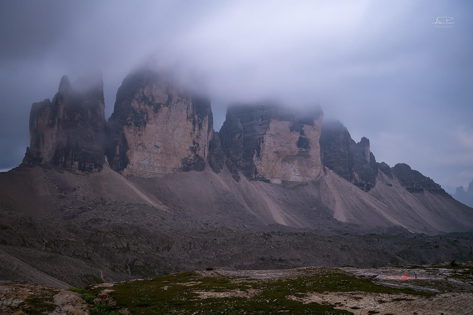 Three laveredo peaks...