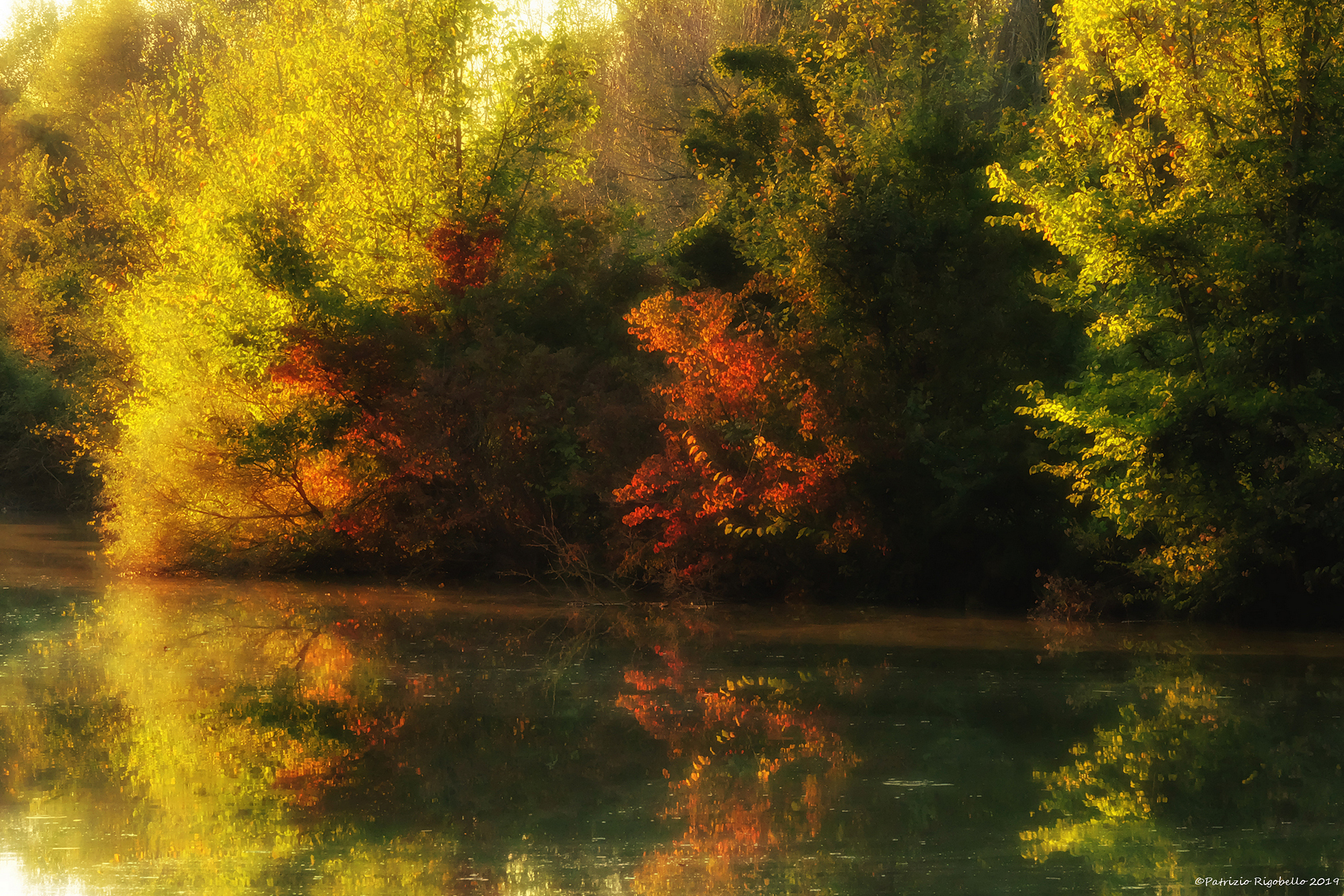 Autumn by the river...