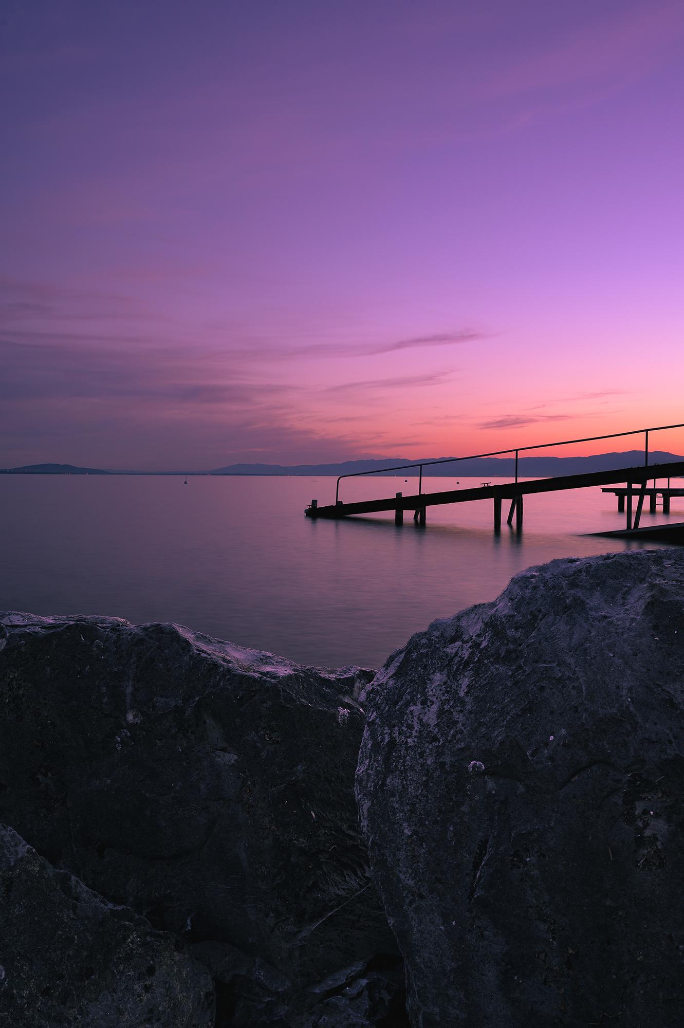 Lake Geneva...