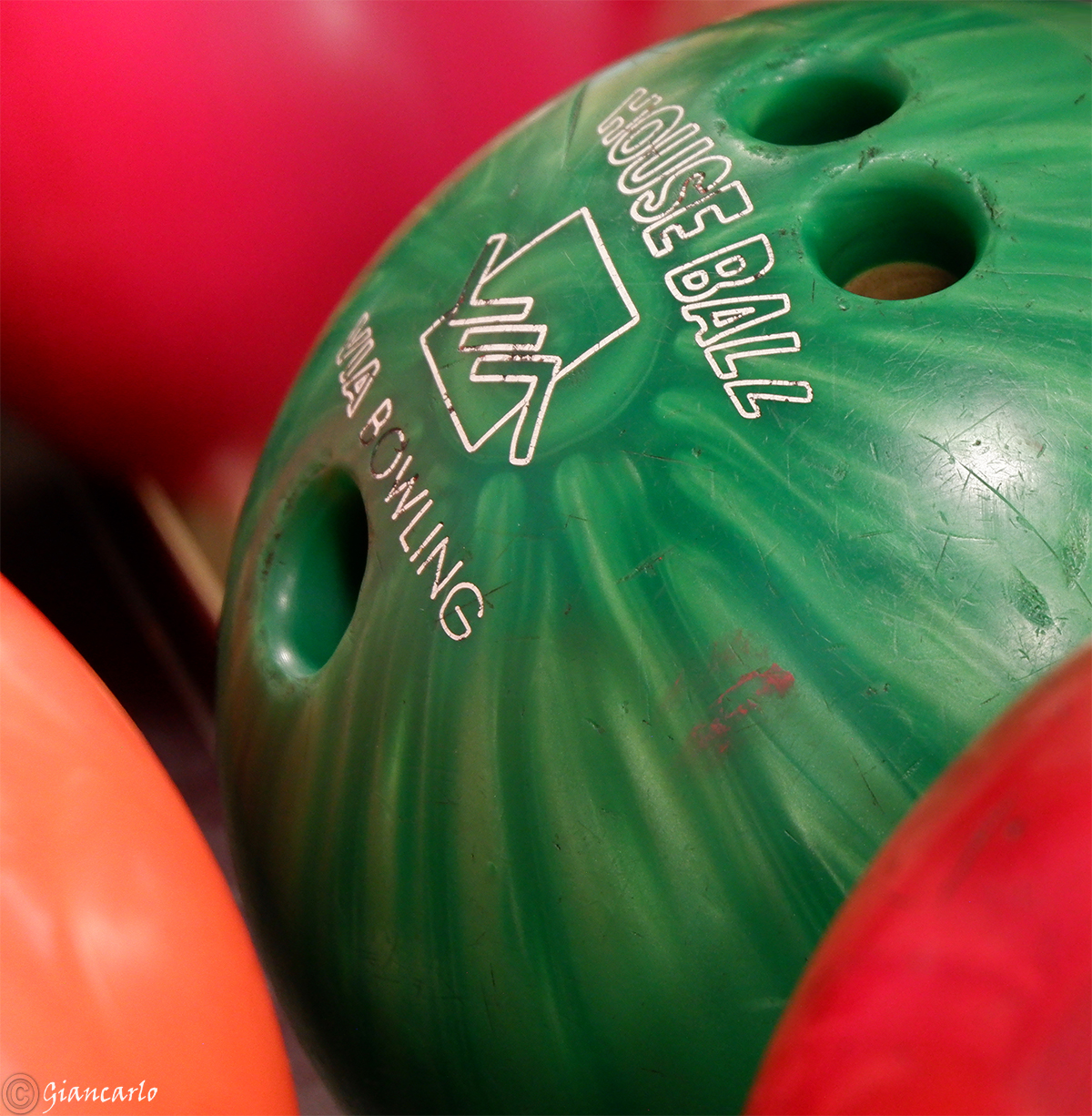even a bowling ball does oh oh....