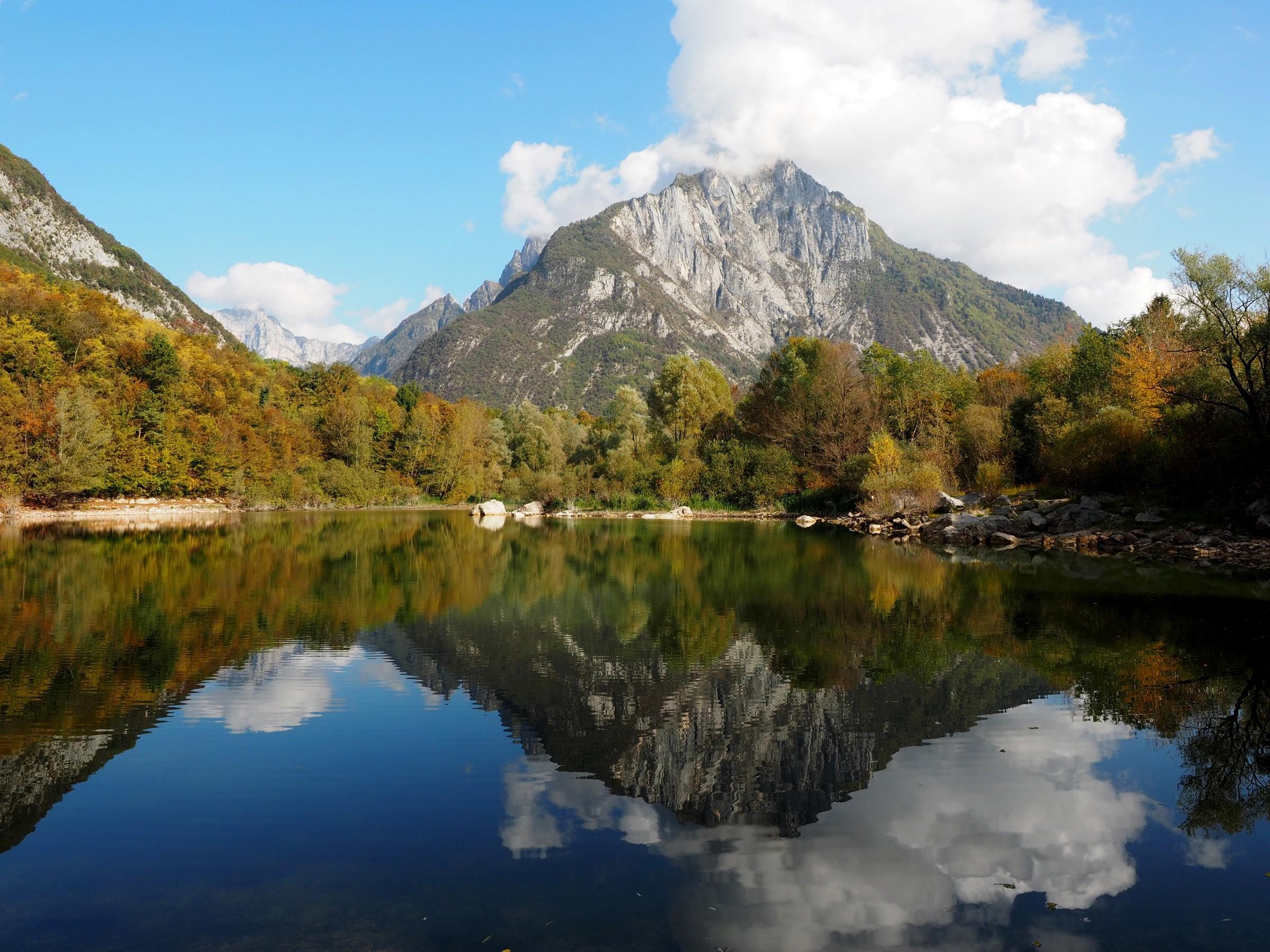 Reflections at Lake Vedana...