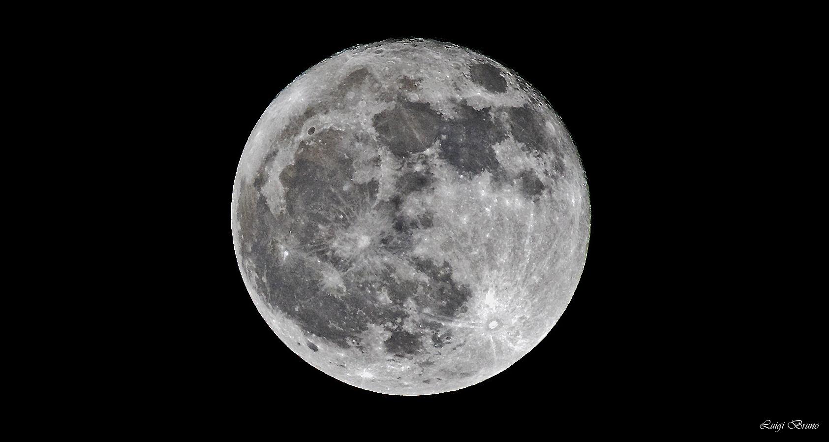 Full moon end of November 2018...