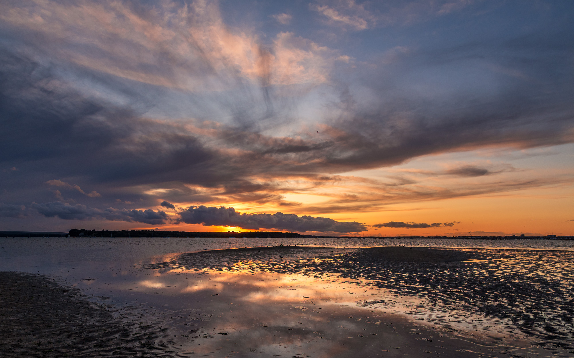 Sunset Over Poole Harbour...