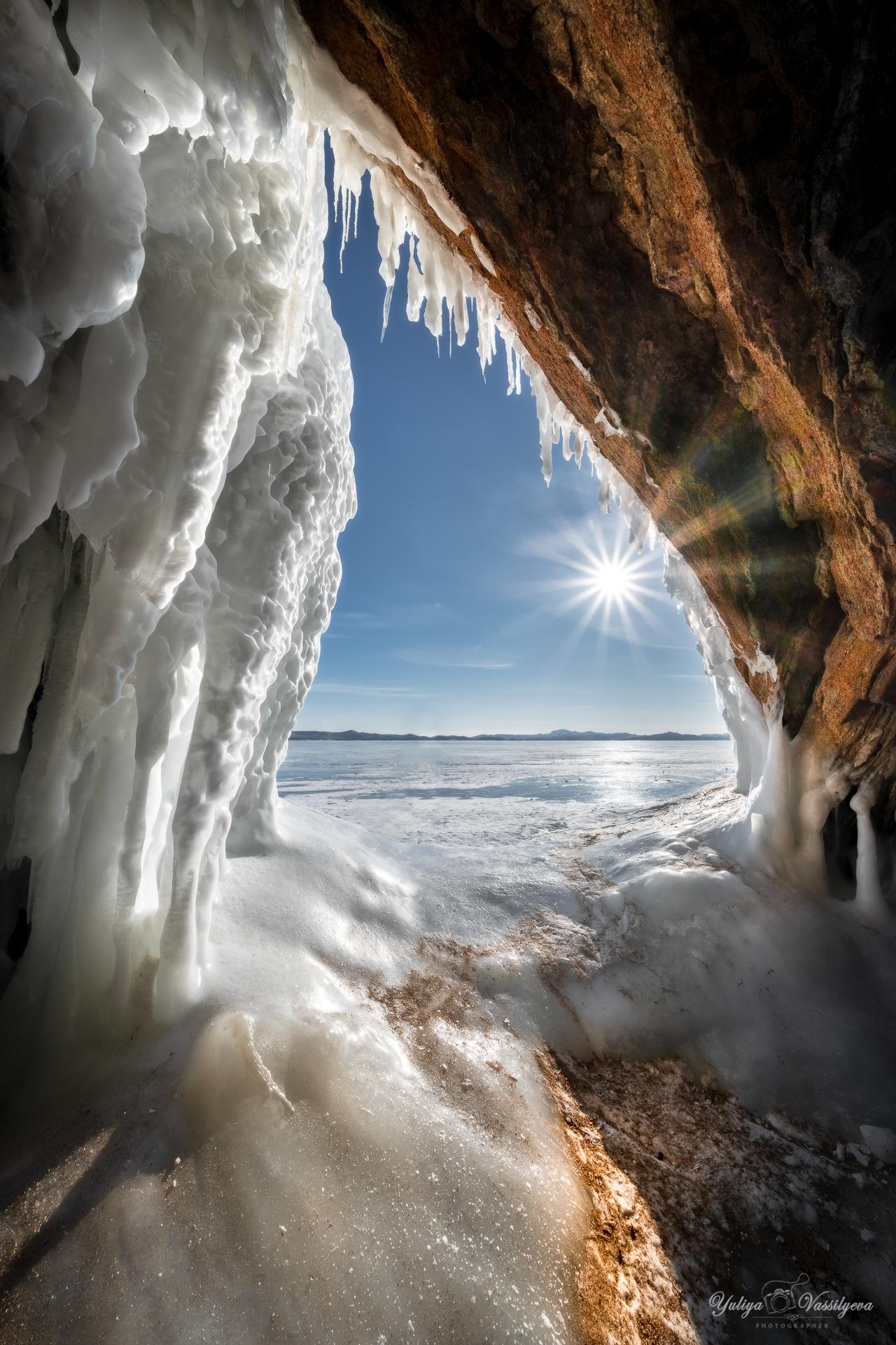 Nella grotta del ghiaccio...