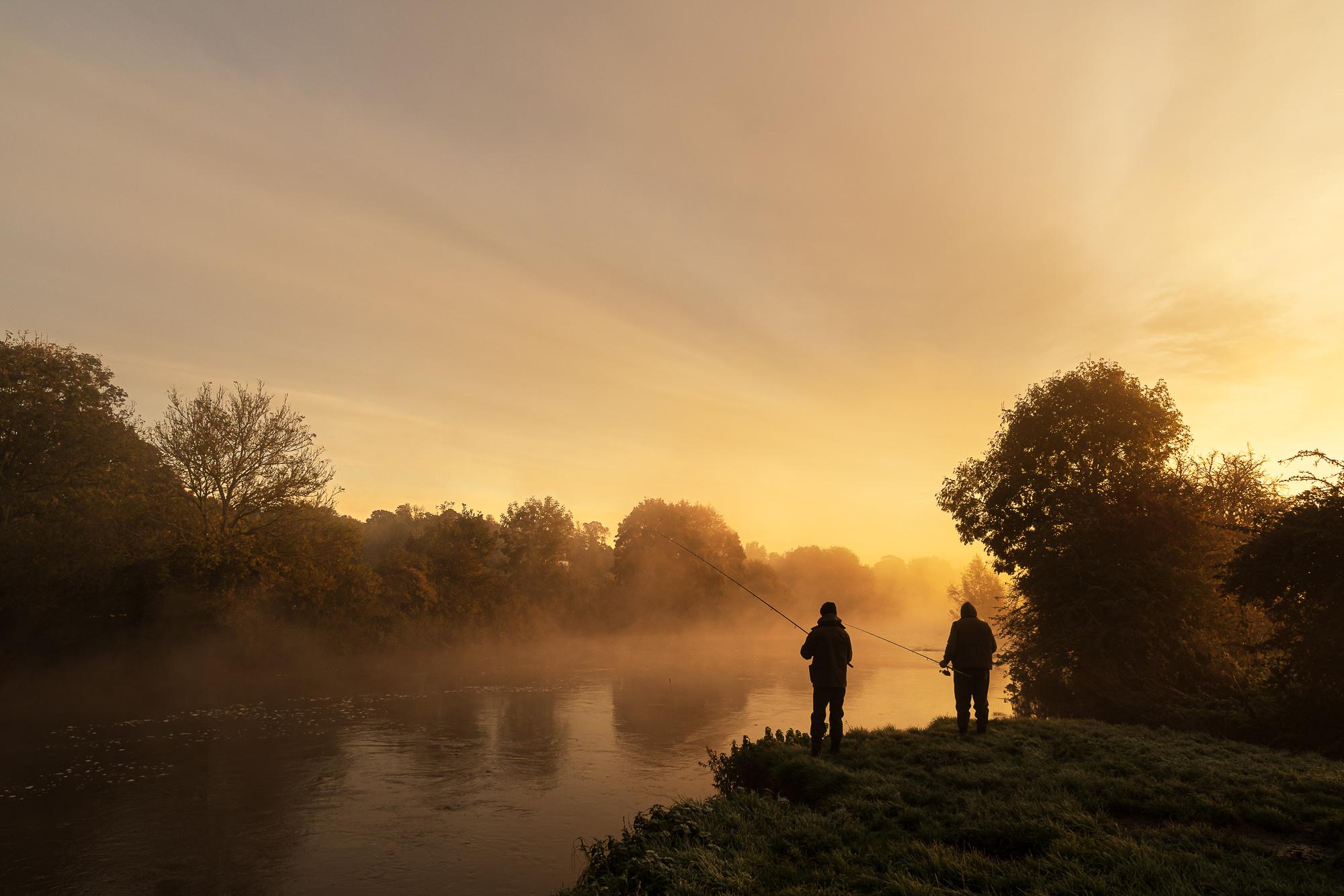 Fishing at Daybreak...