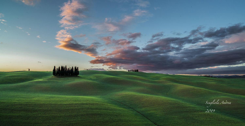 Sunrise of Orcia II...