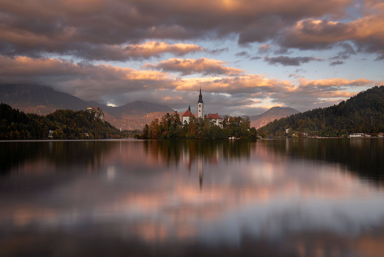 Lake Bled at sunset...