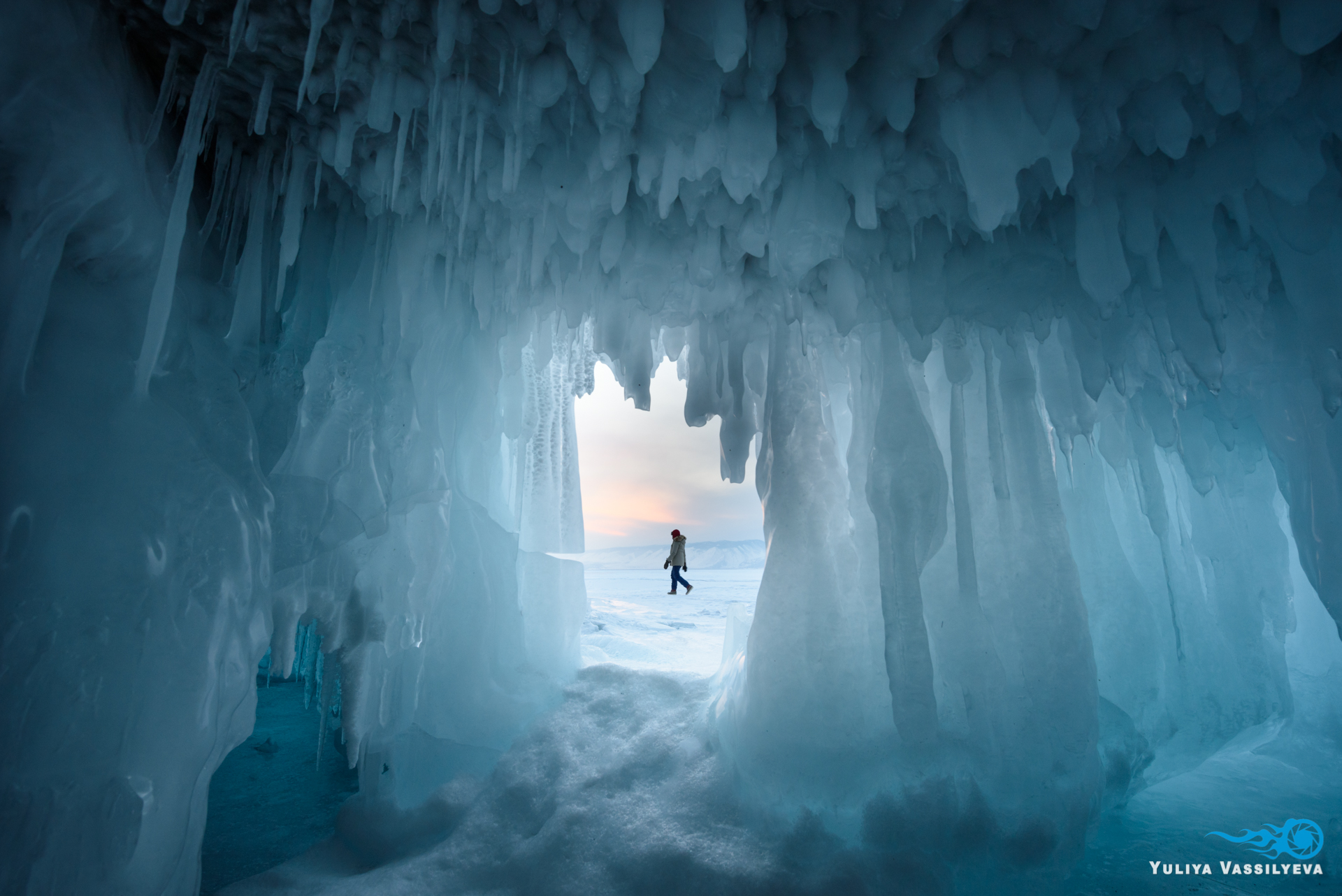 In the Ice Cave...