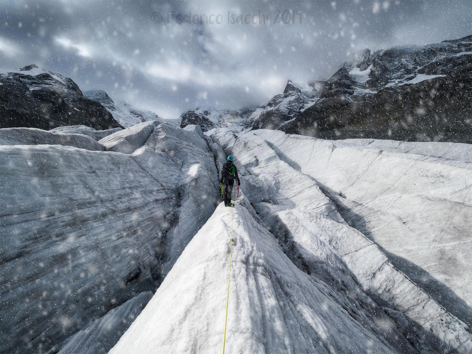 Morteratsch Glacier...