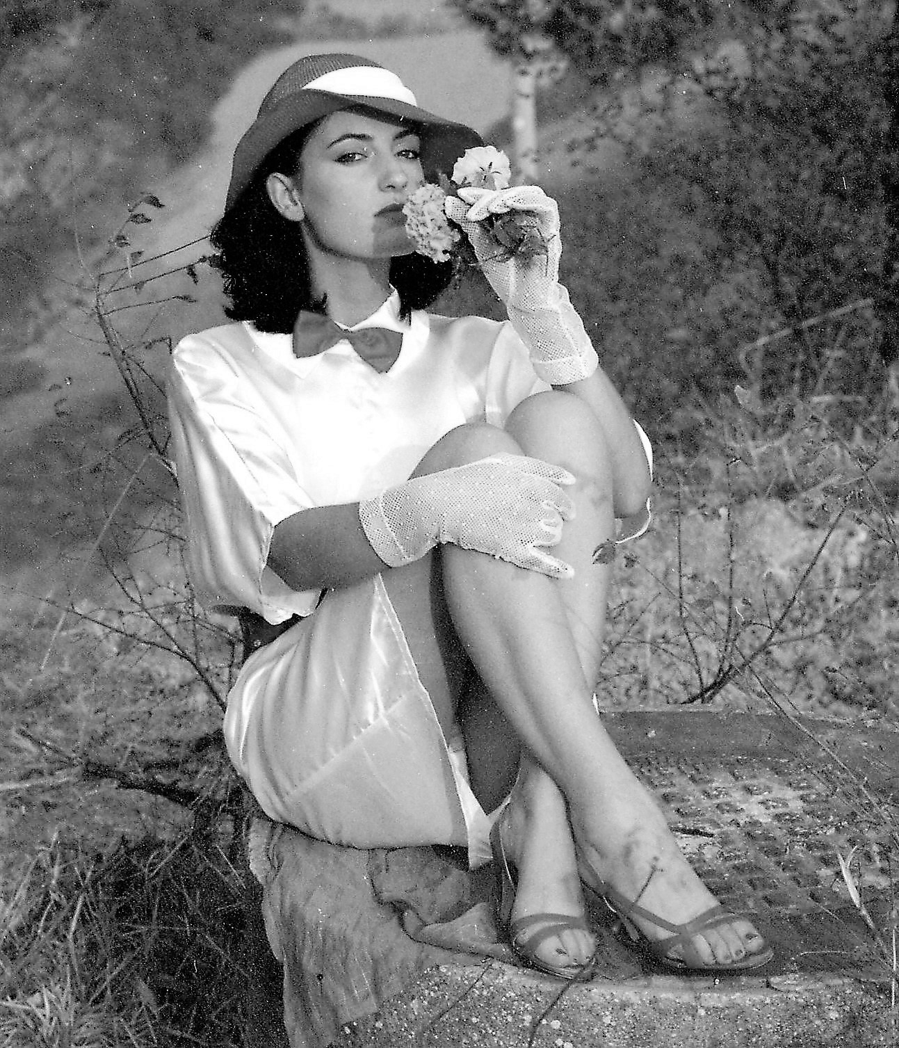 The very elegant Pina, country girl!...