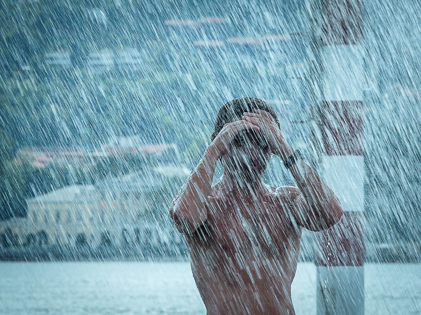 Rain Man in Como...