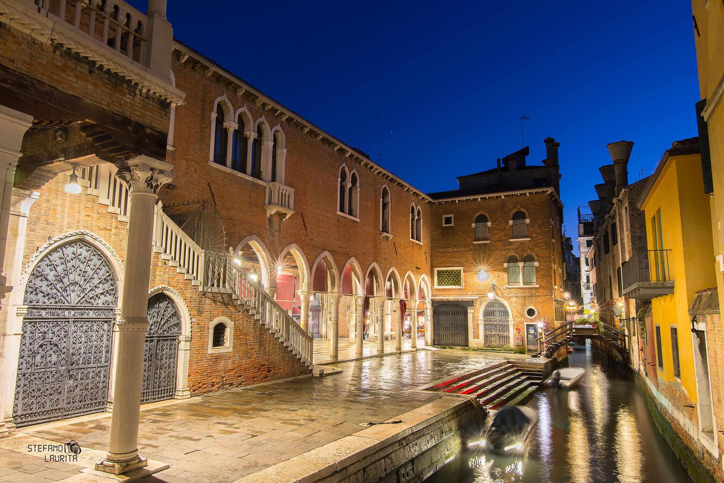 Far away from tourist, Venice...