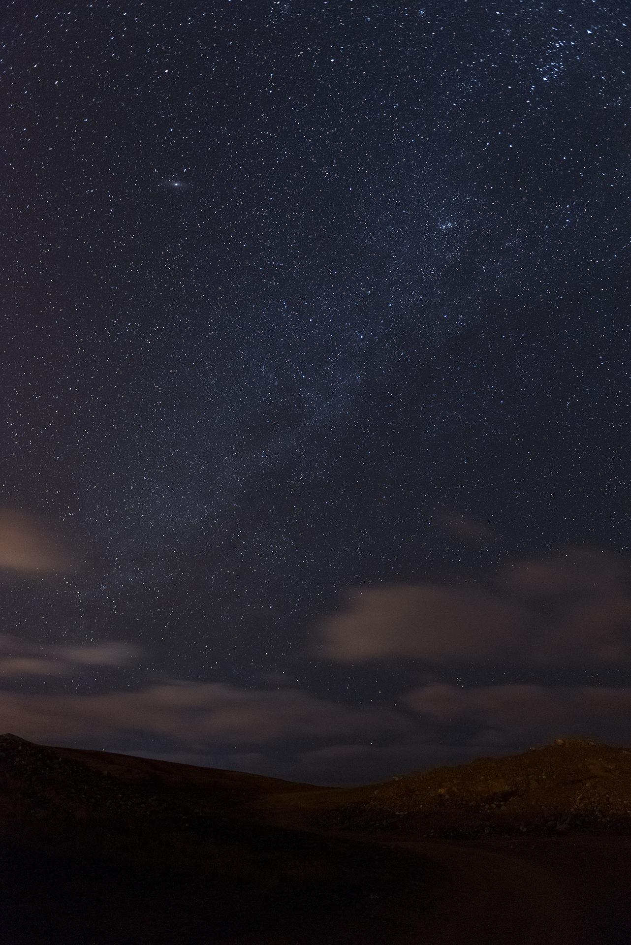 Light Milky Way in Ilha do Sal...