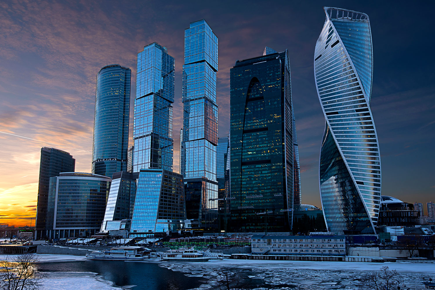 Moscow City Complex...