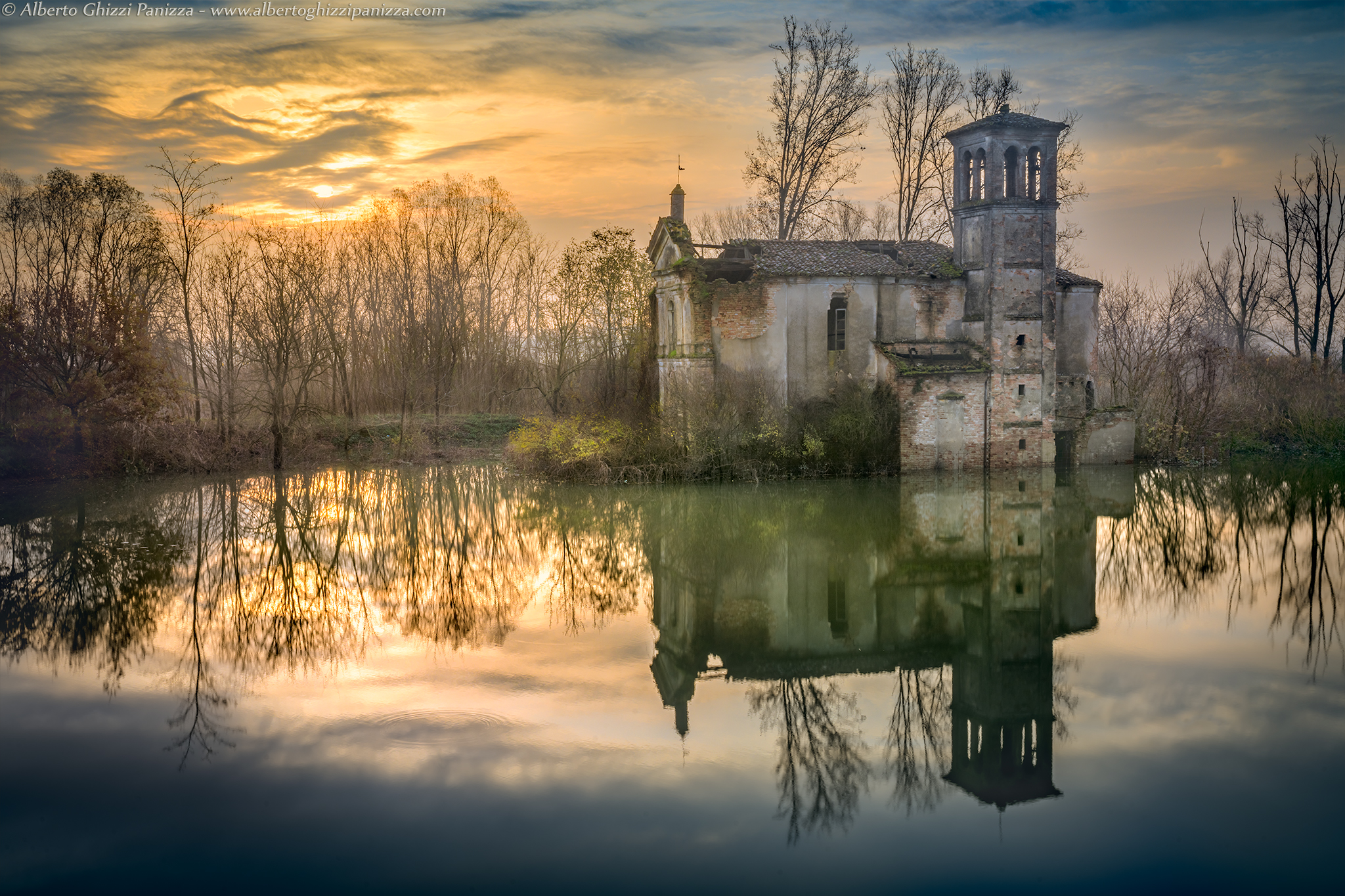 Abandoned and flooded...