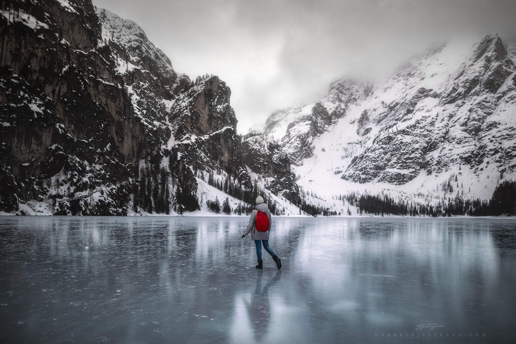 Ghiaccio Vivo - Lago di Braies - Alto Adige...
