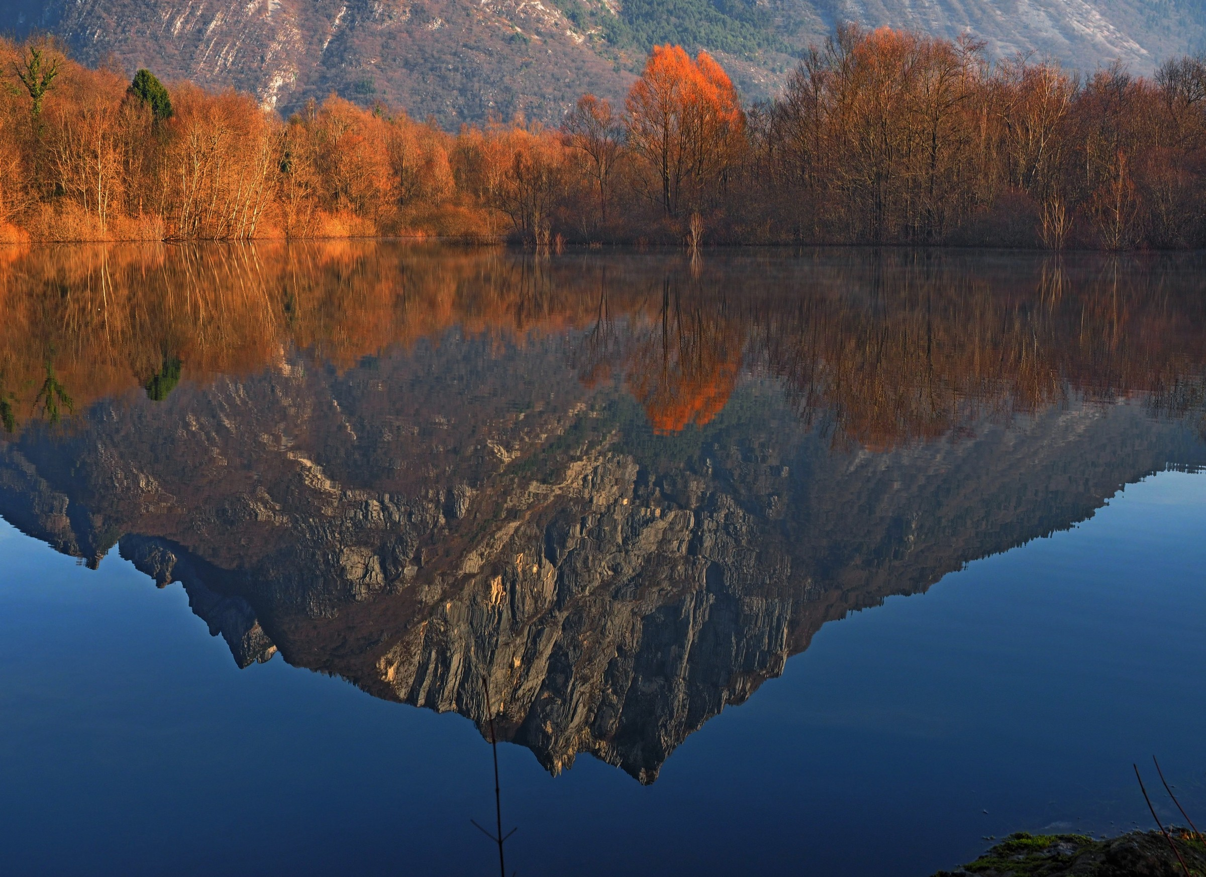 The Mountain in the Mirror...