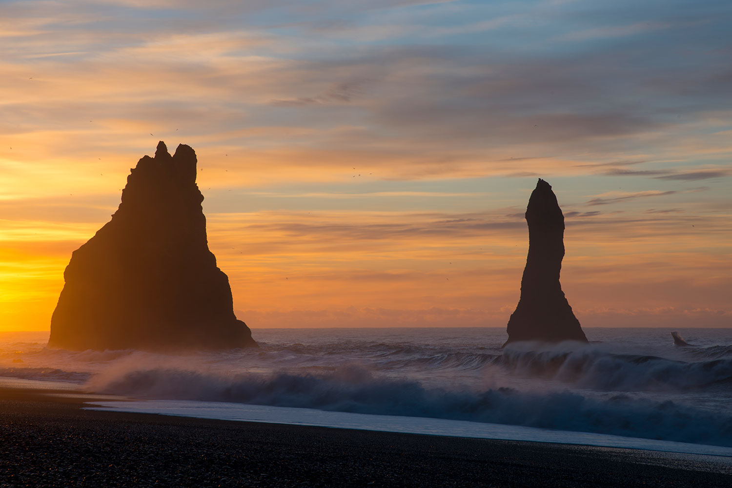 Reynisfjara Beach at dawn...