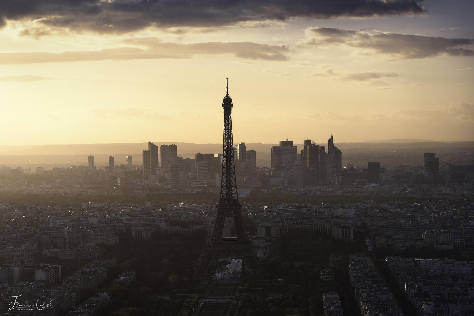 Tramonto da Montparnasse...