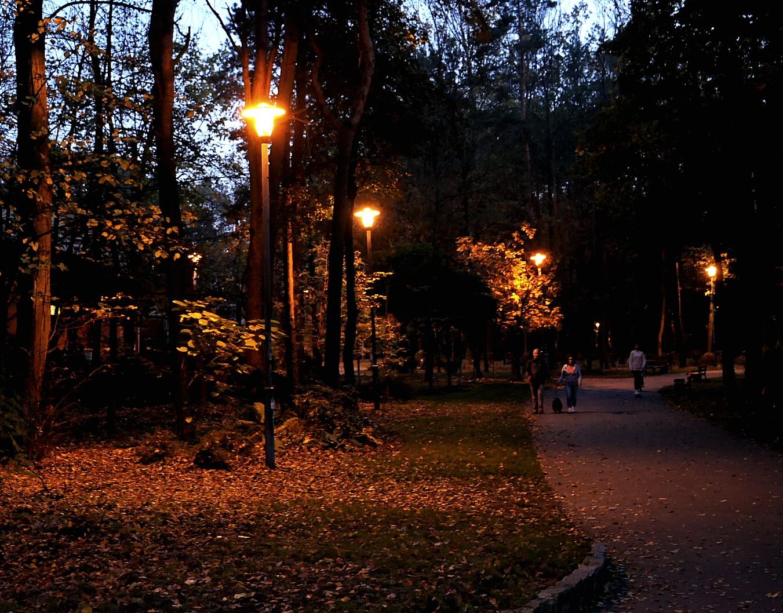 Autumn twilight...